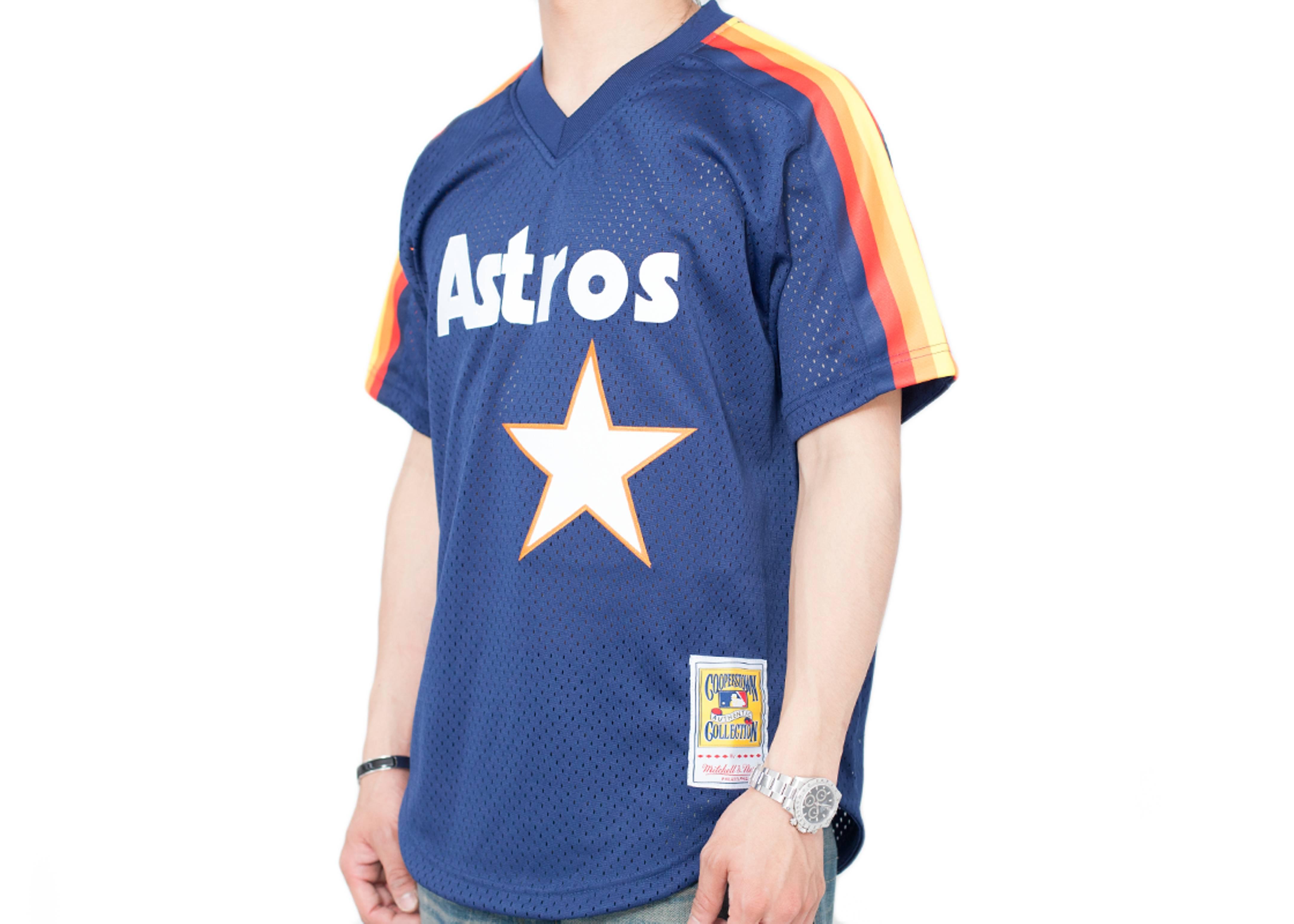 805faff1e6d Houston Astros Authentic Mesh Bp Jersey