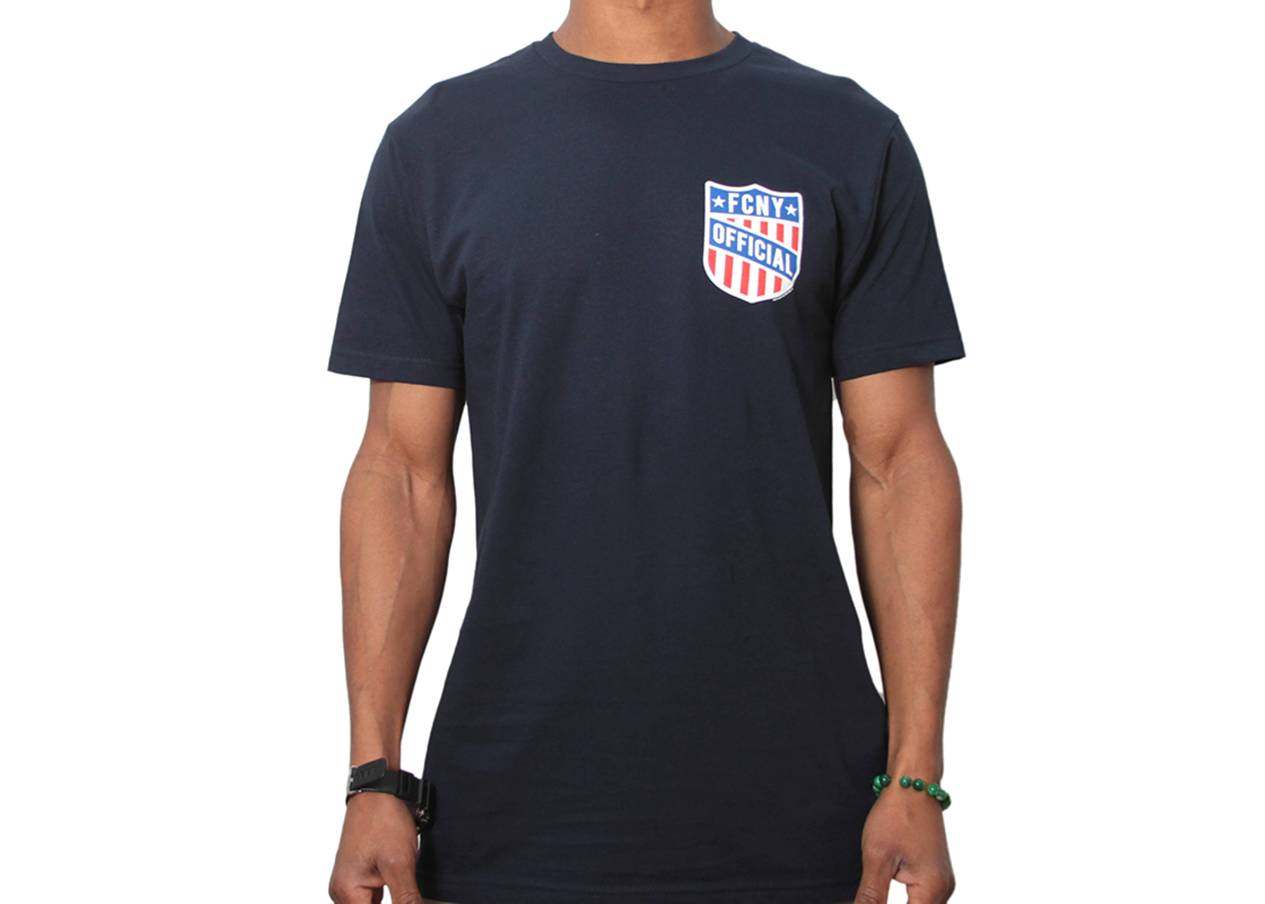fcny shield t-shirt