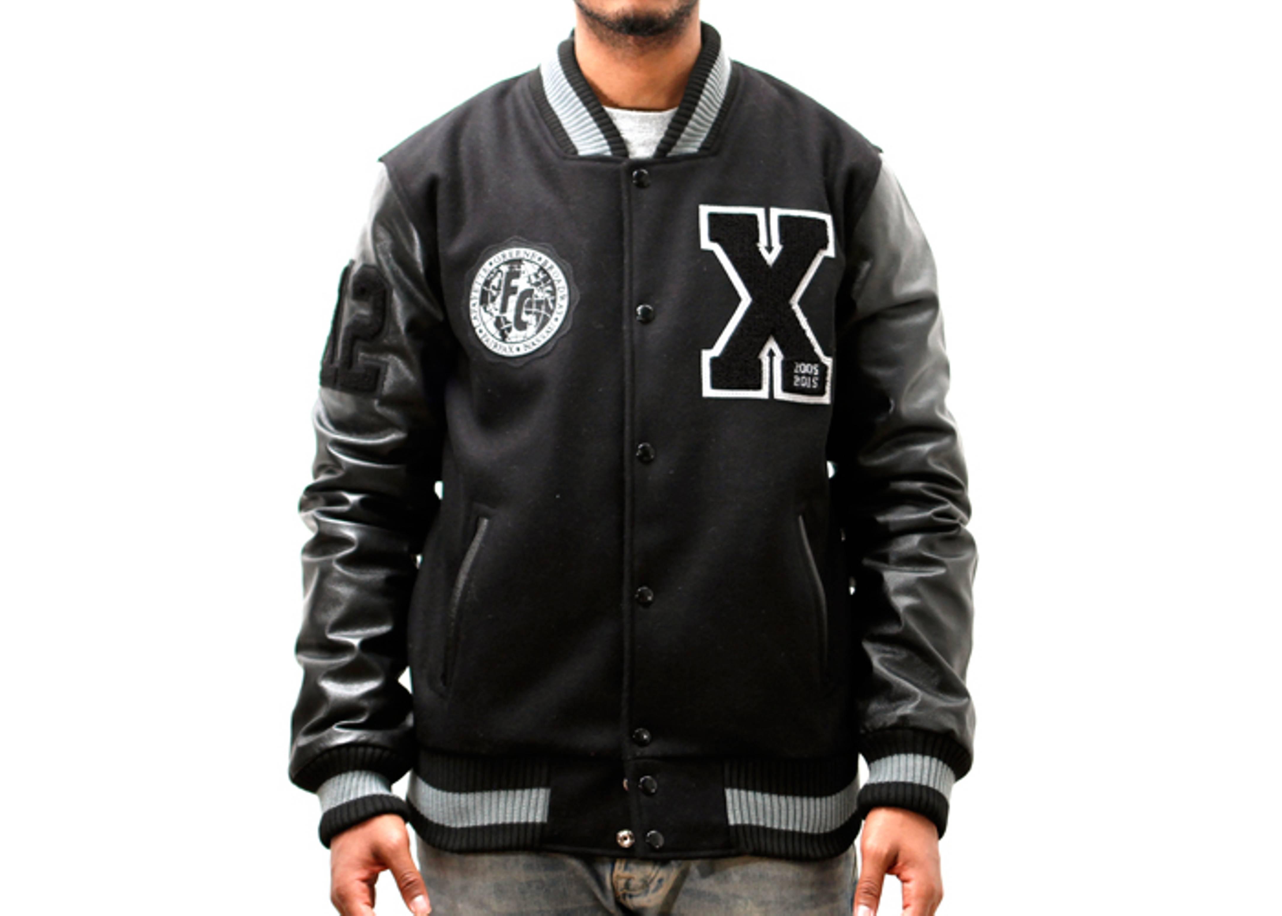 """varsity jacket """"10 year anniversary"""""""