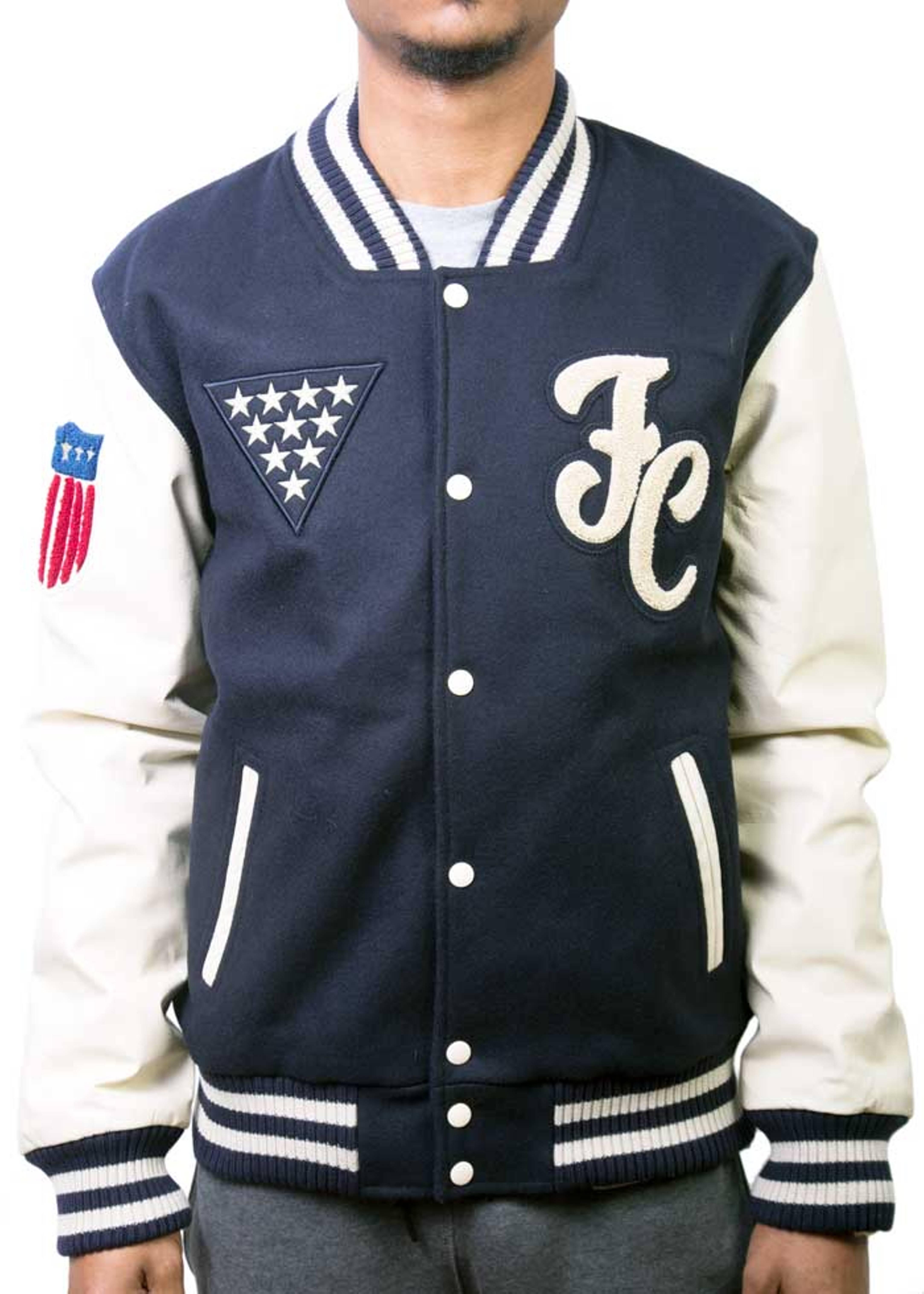 maverick varsity jacket