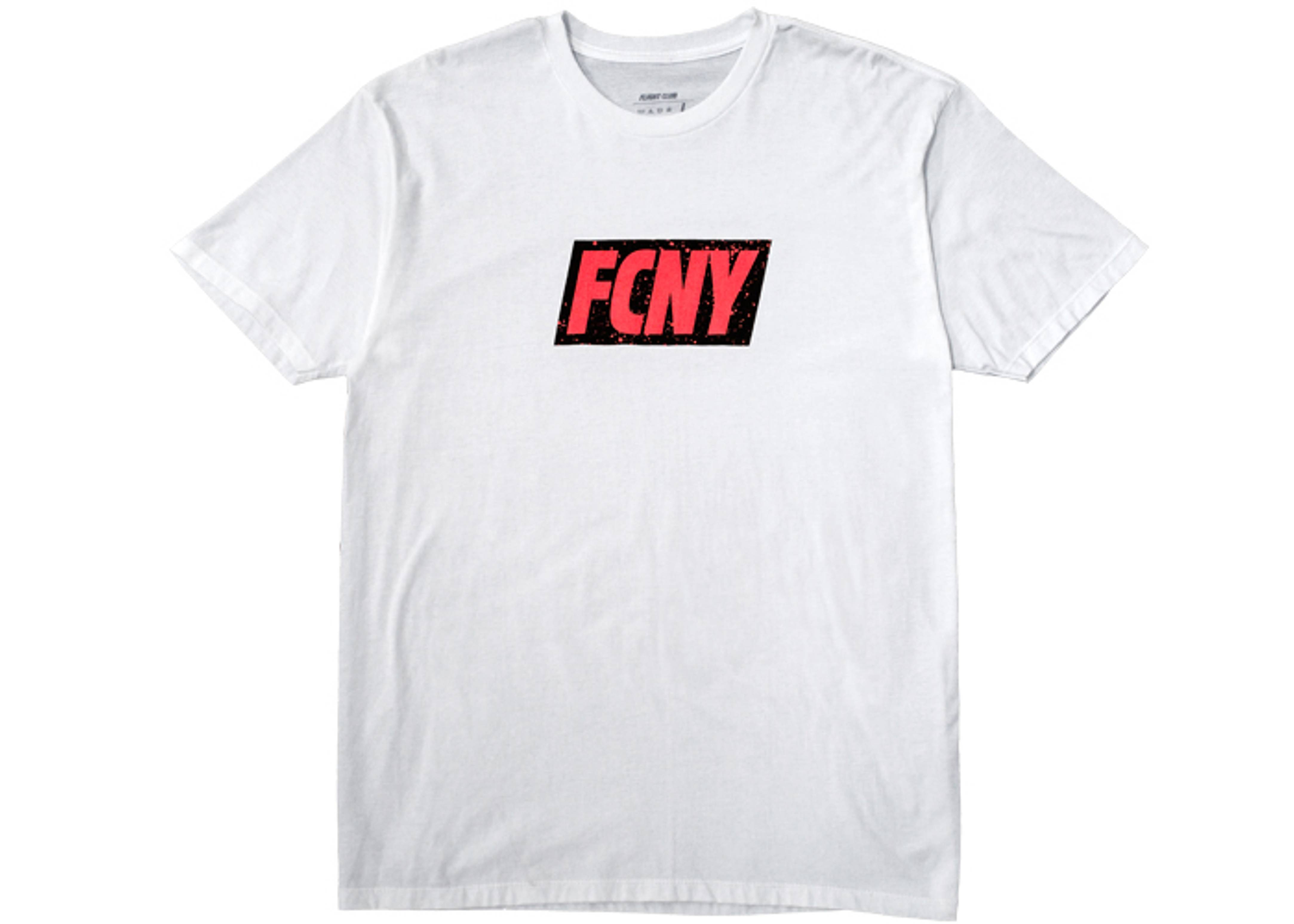 fcny infrared splatter red tab t-shirt