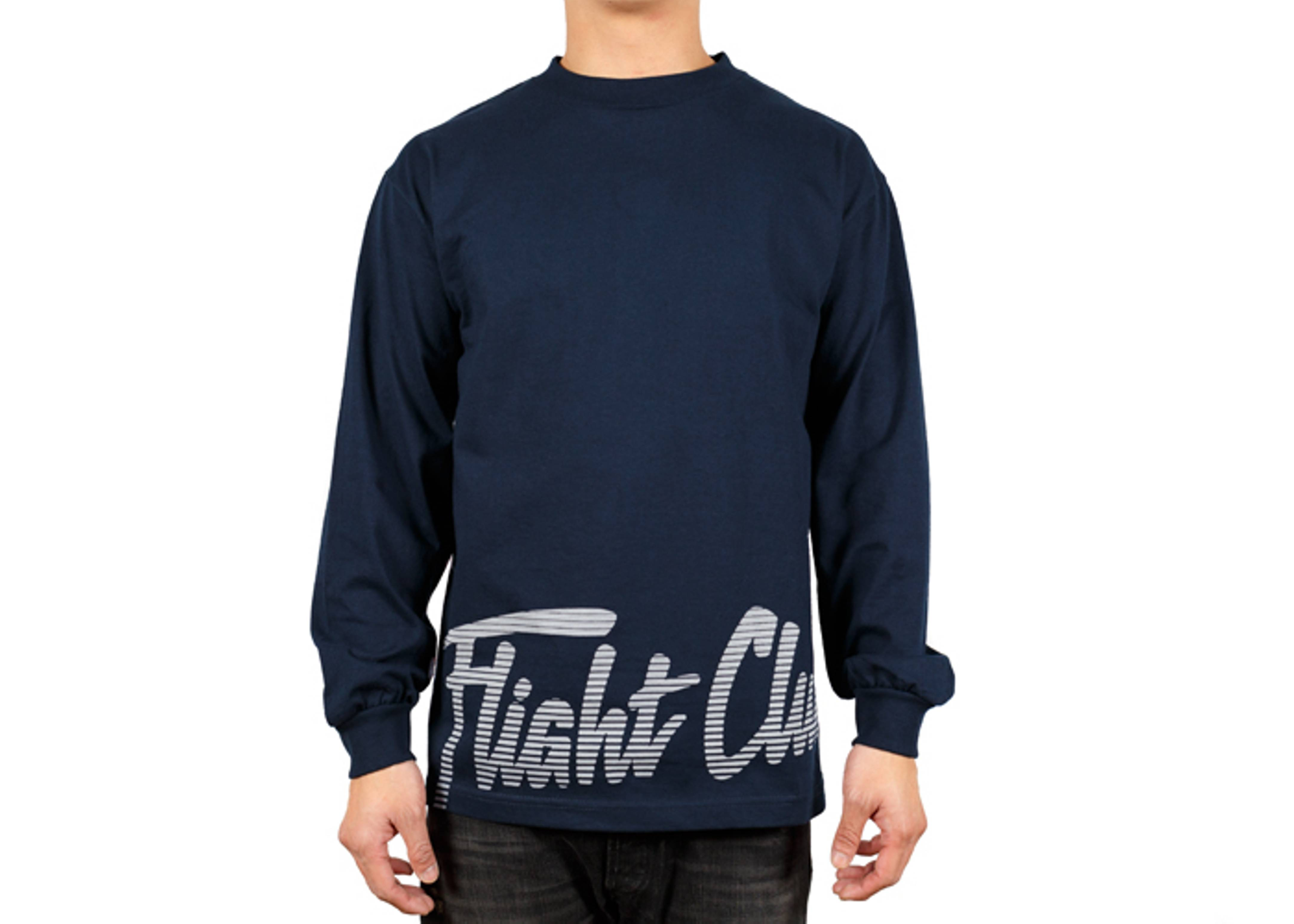 big script long sleeve