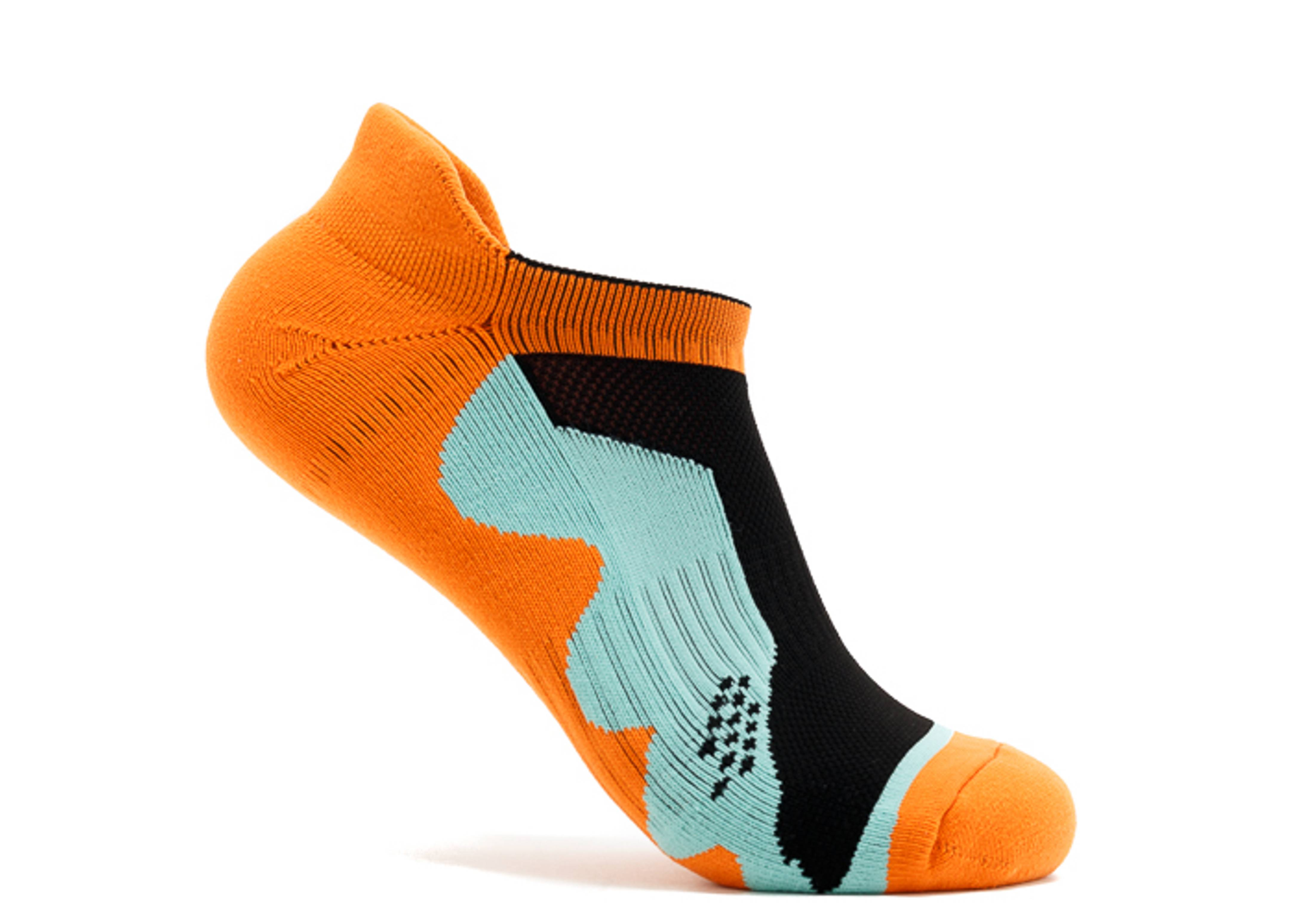 "wave runner stealth no show sock ""waverunner athl orange stealth sock"""