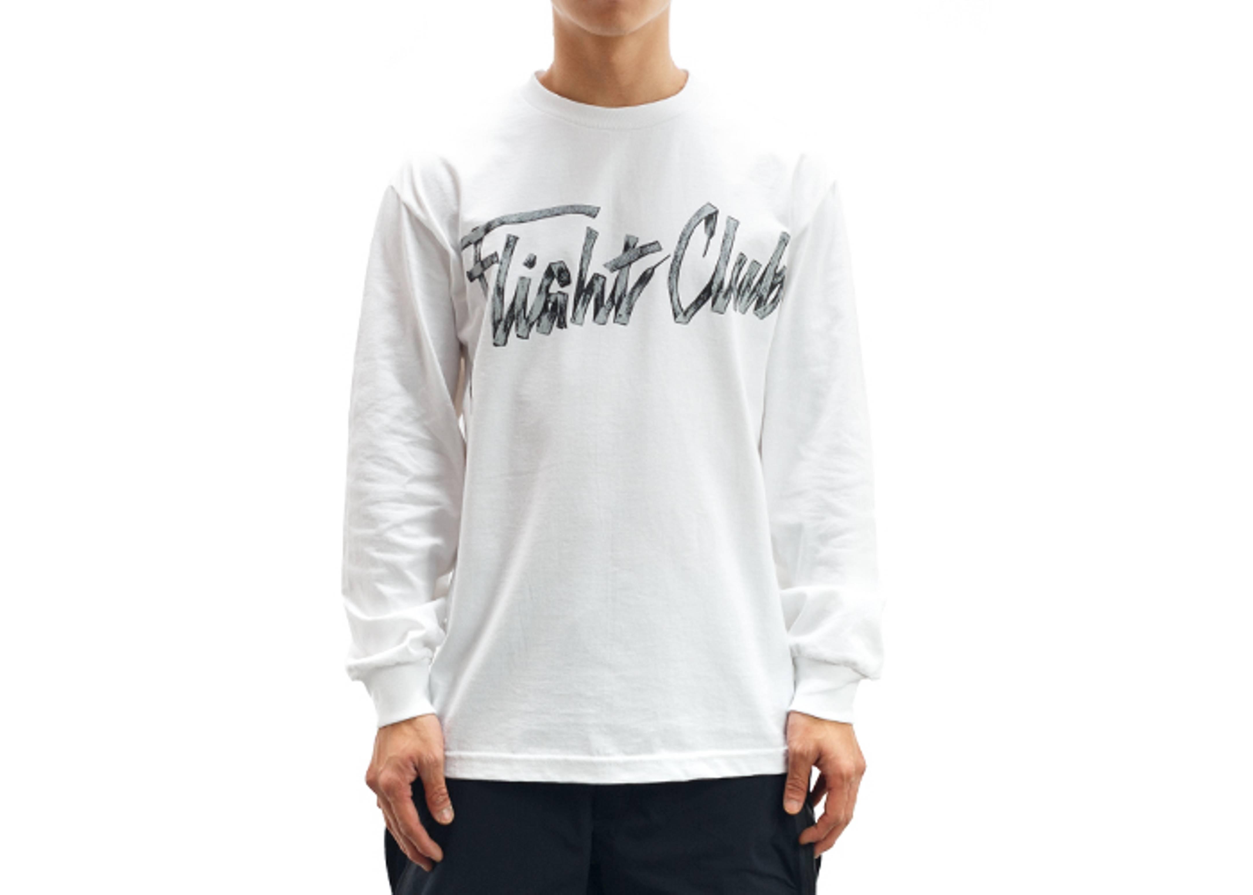 laces script long sleeve t-shirt