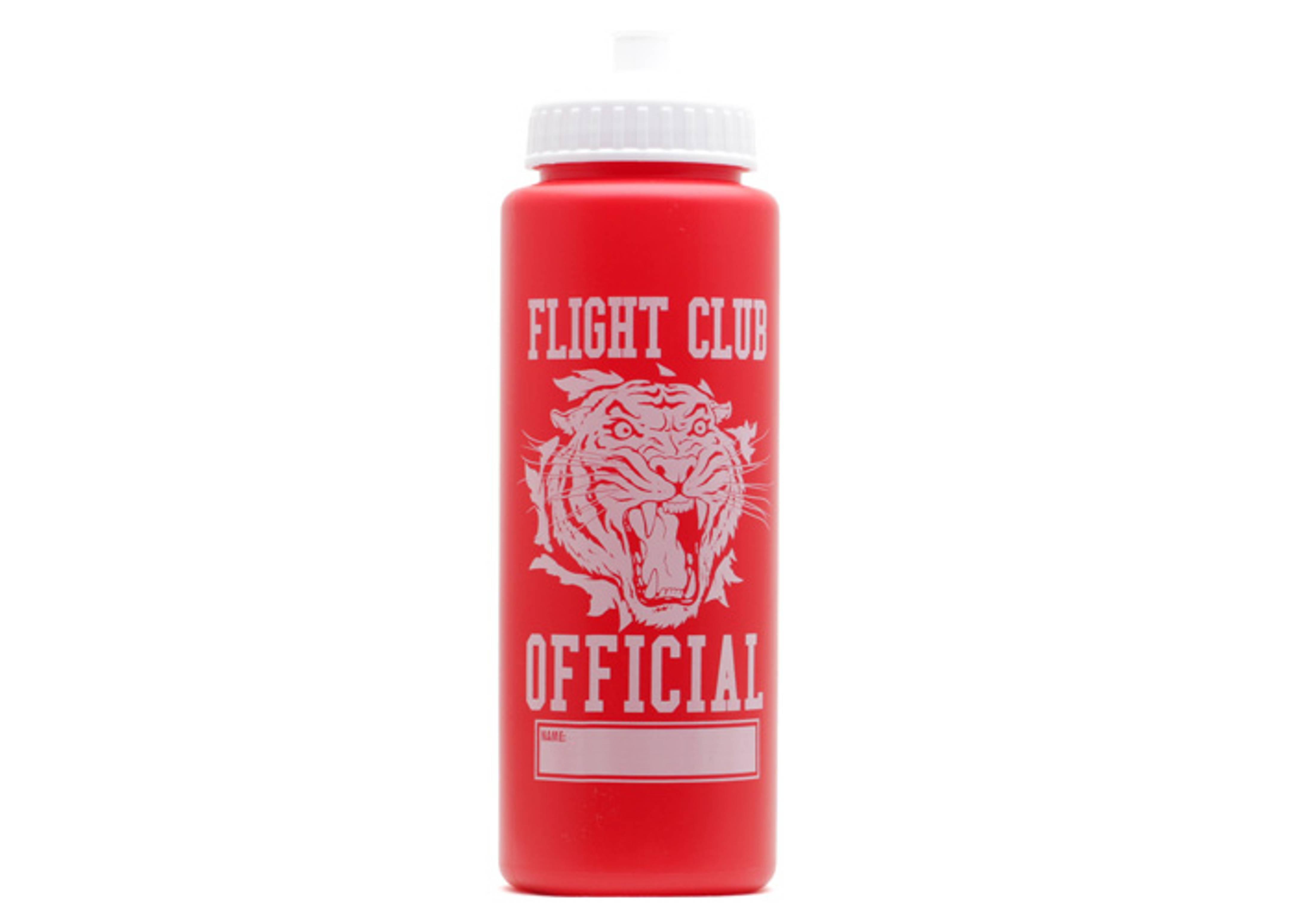established tiger water bottle