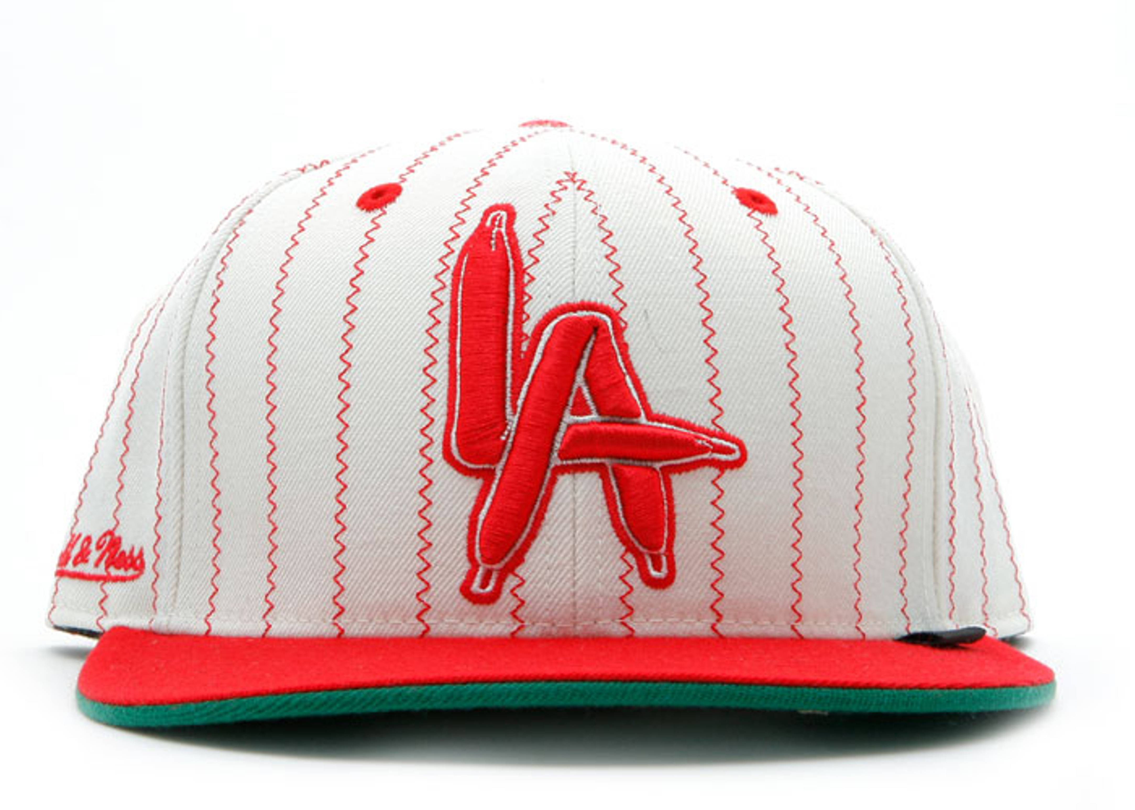"""fc x mitchell & ness fitted """"la laces"""""""