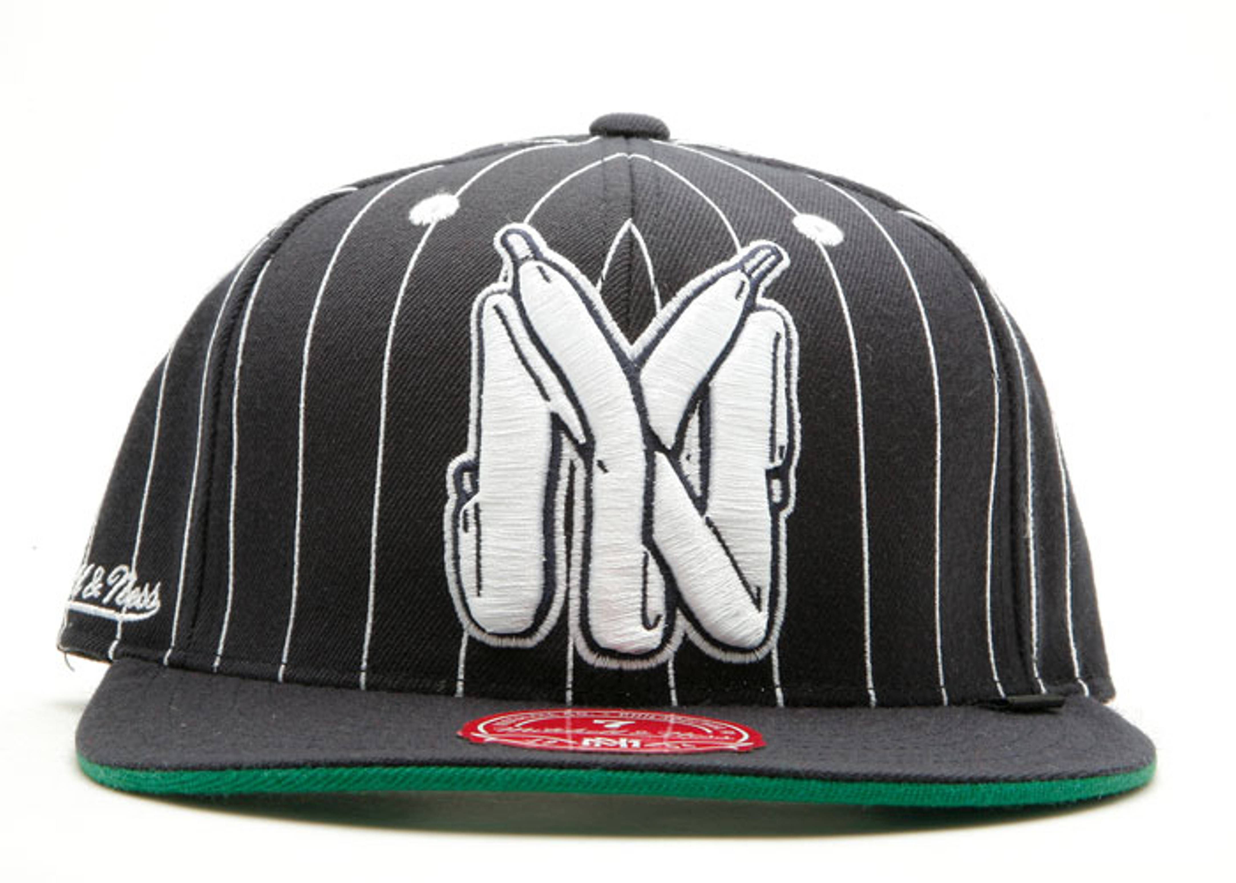 "fc x mitchell & ness fitted ""ny laces"""