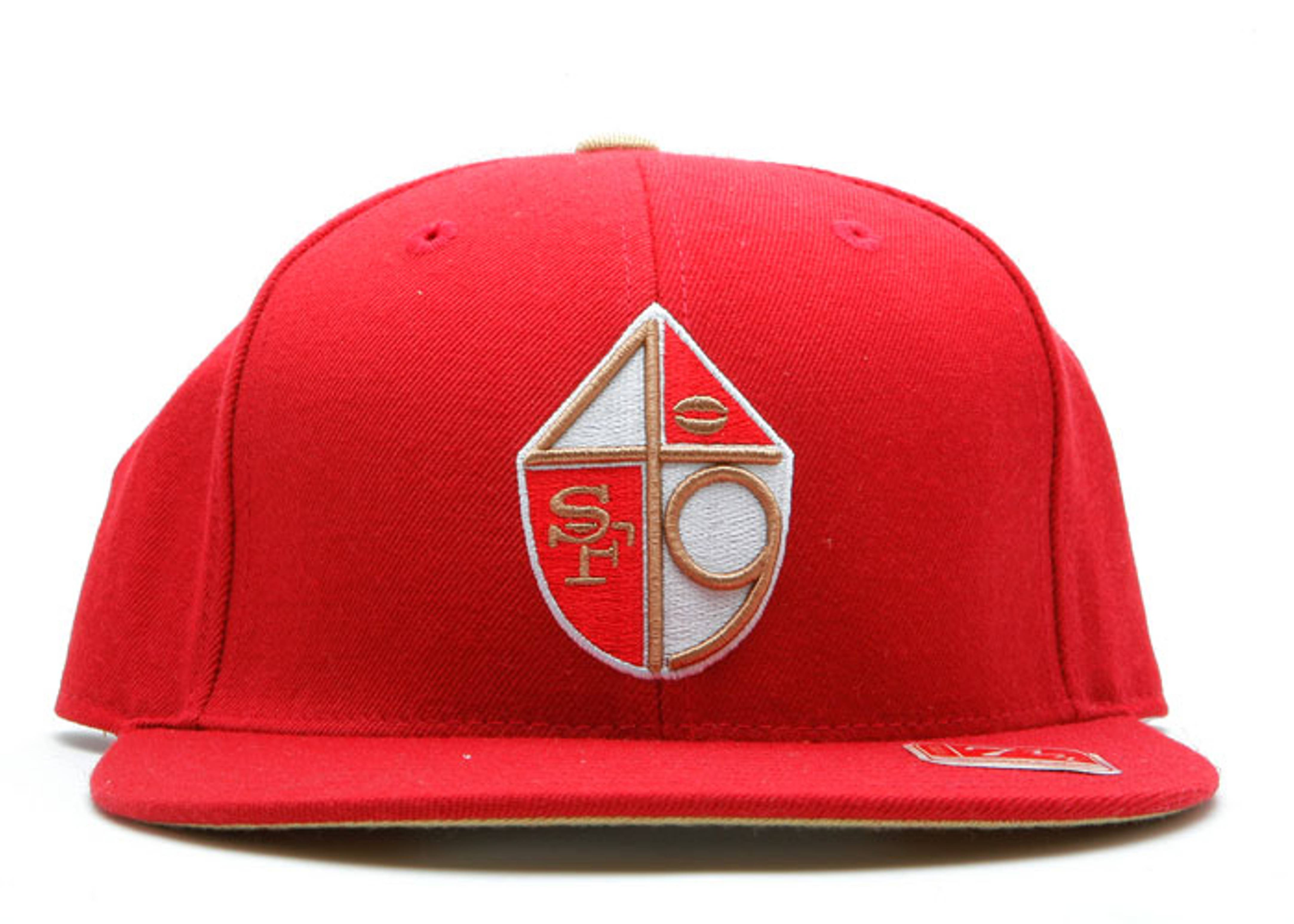 "san francisco 49ers fitted ""shield"""