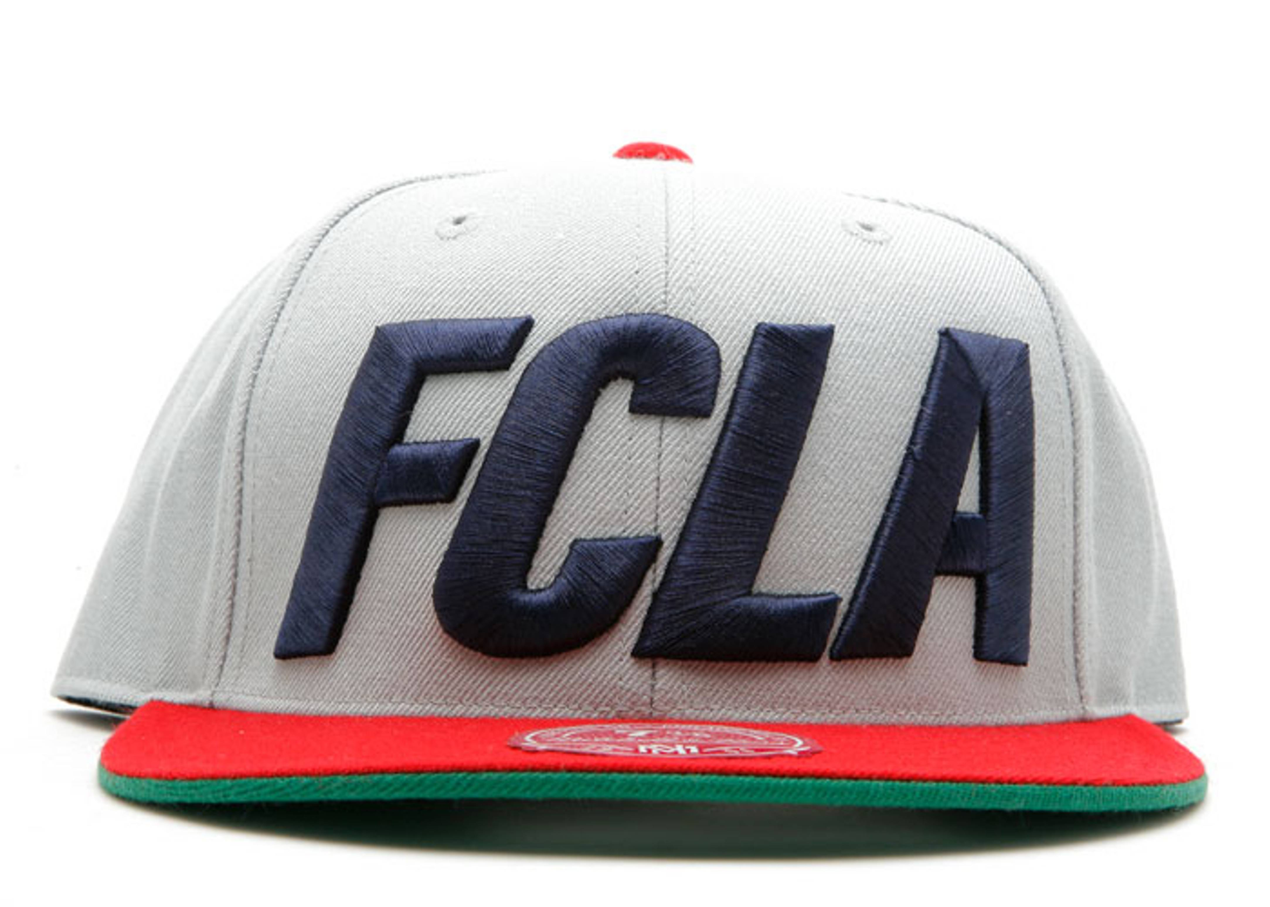 """fc x mitchell & ness fitted """"angels"""""""