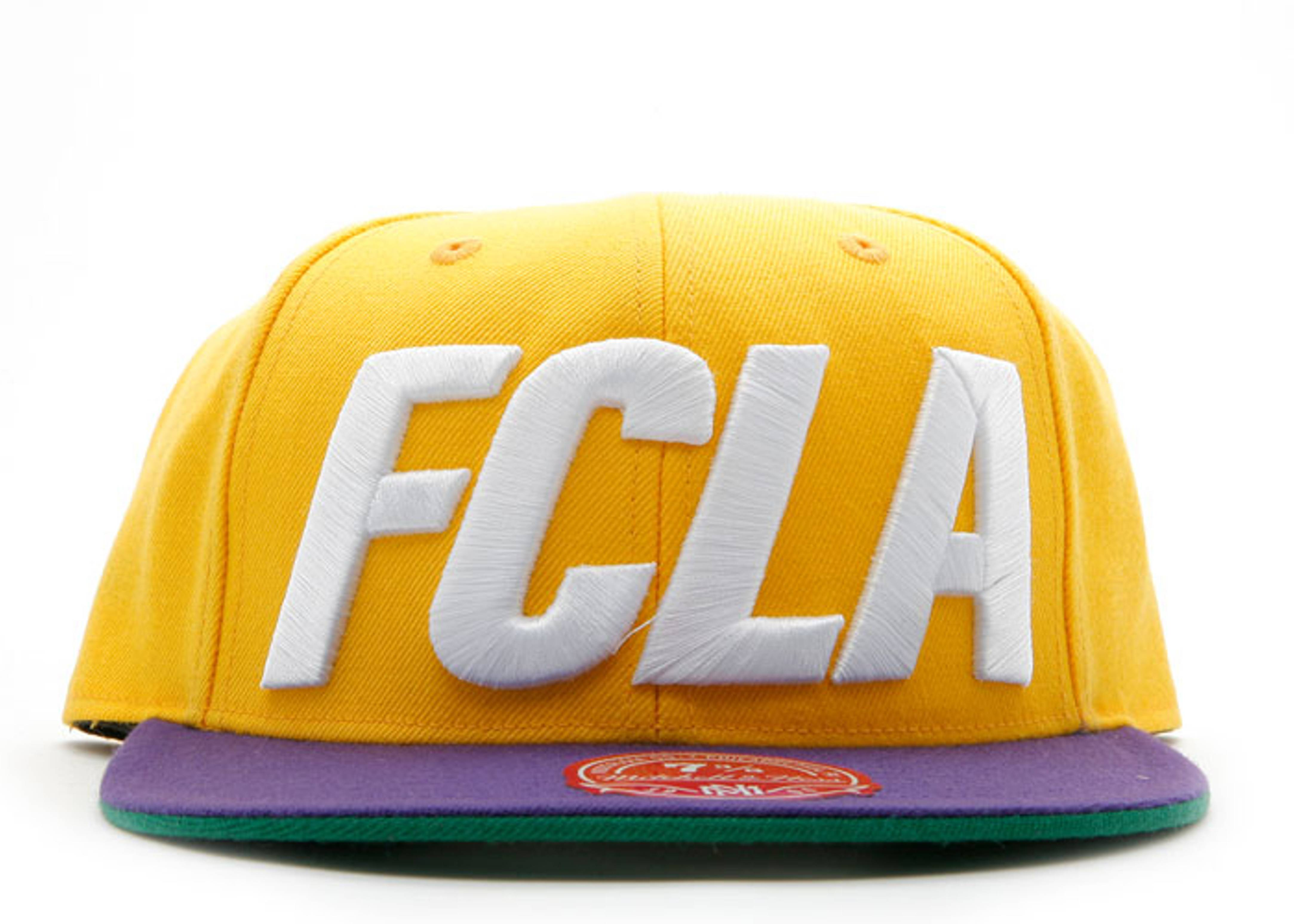 """fc x mitchell & ness fitted """"lakers"""""""