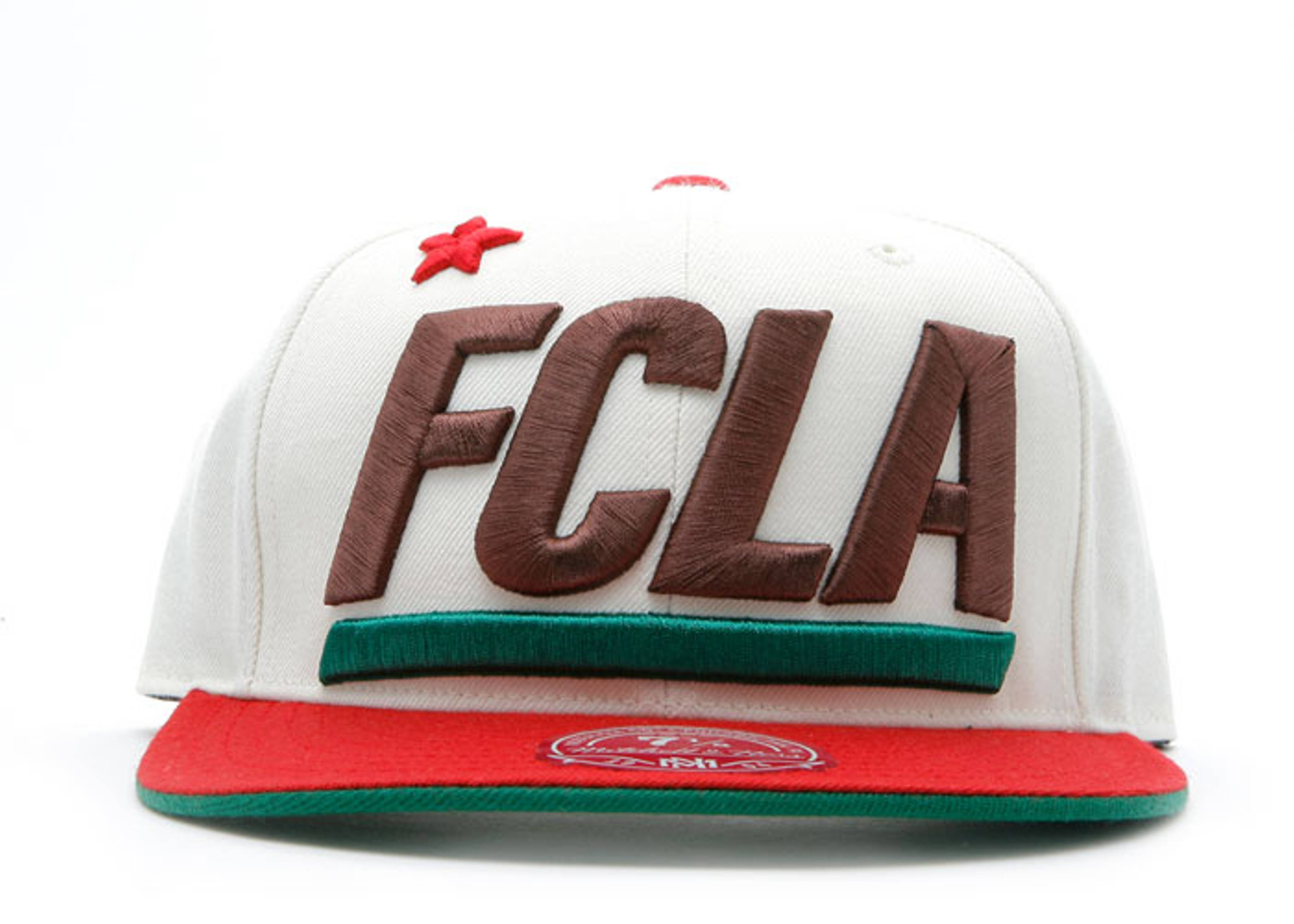 """fc x mitchell & ness fitted """"cali flag"""""""