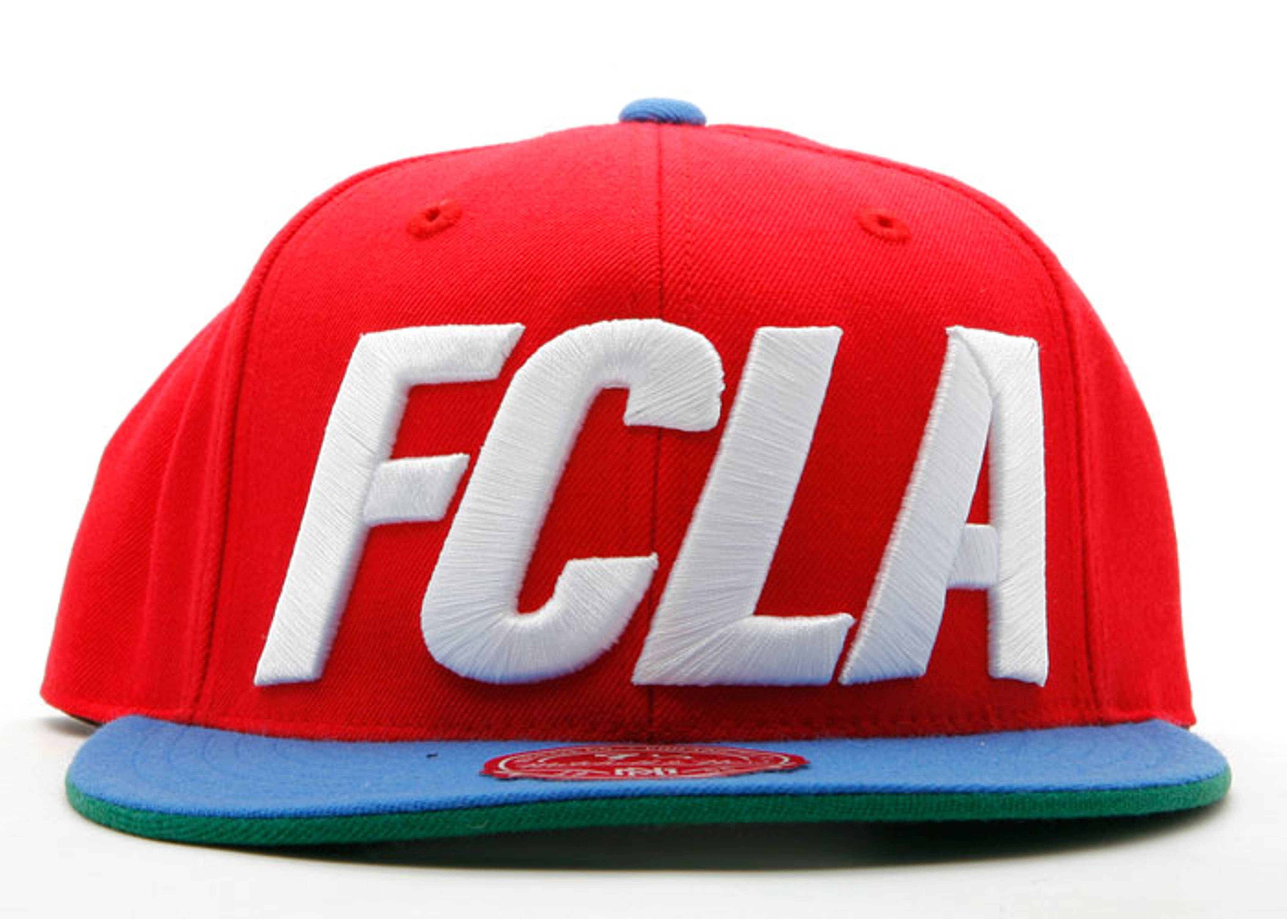 """fc x mitchell & ness fitted """"clippers"""""""
