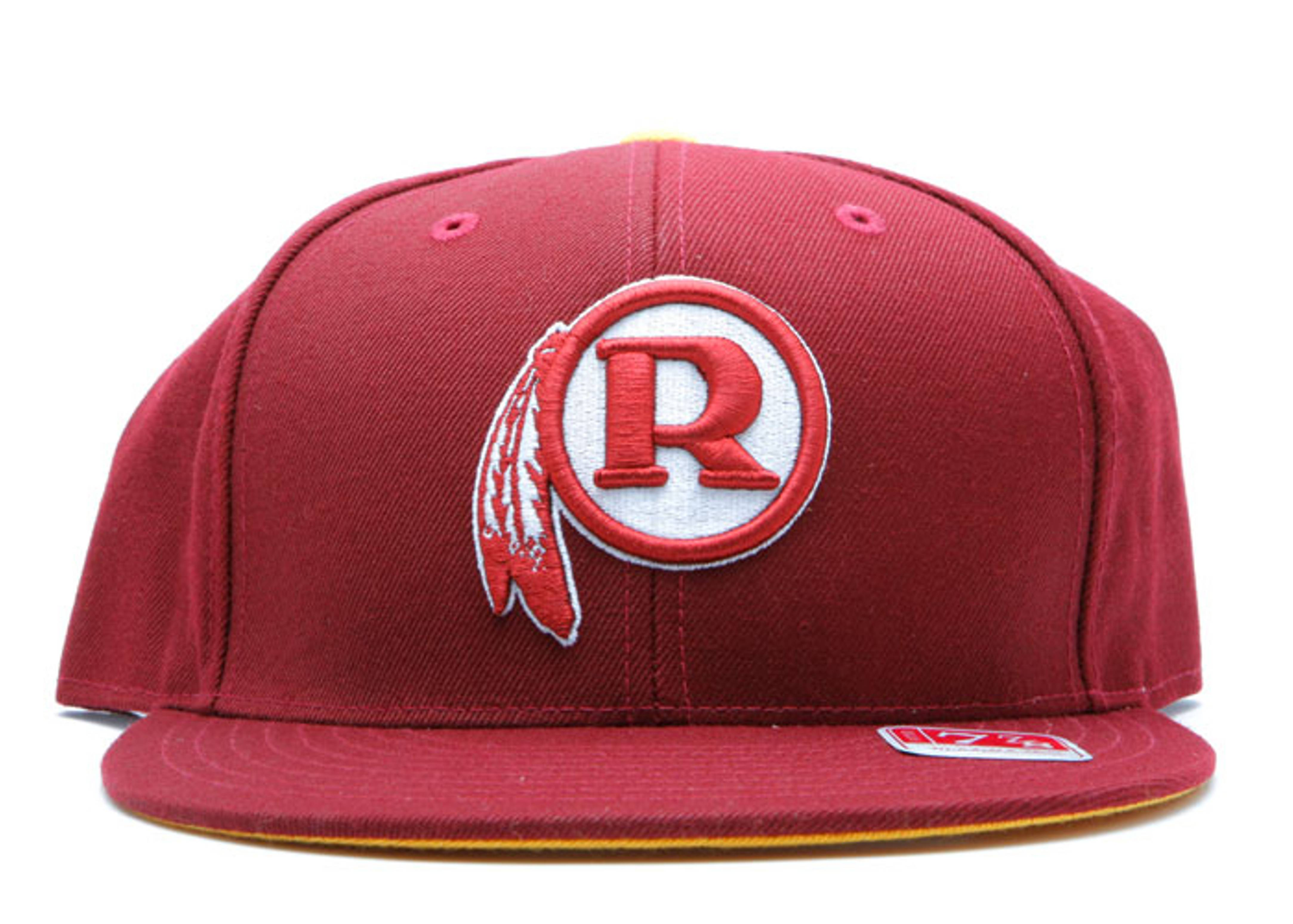 washington red skins fitted