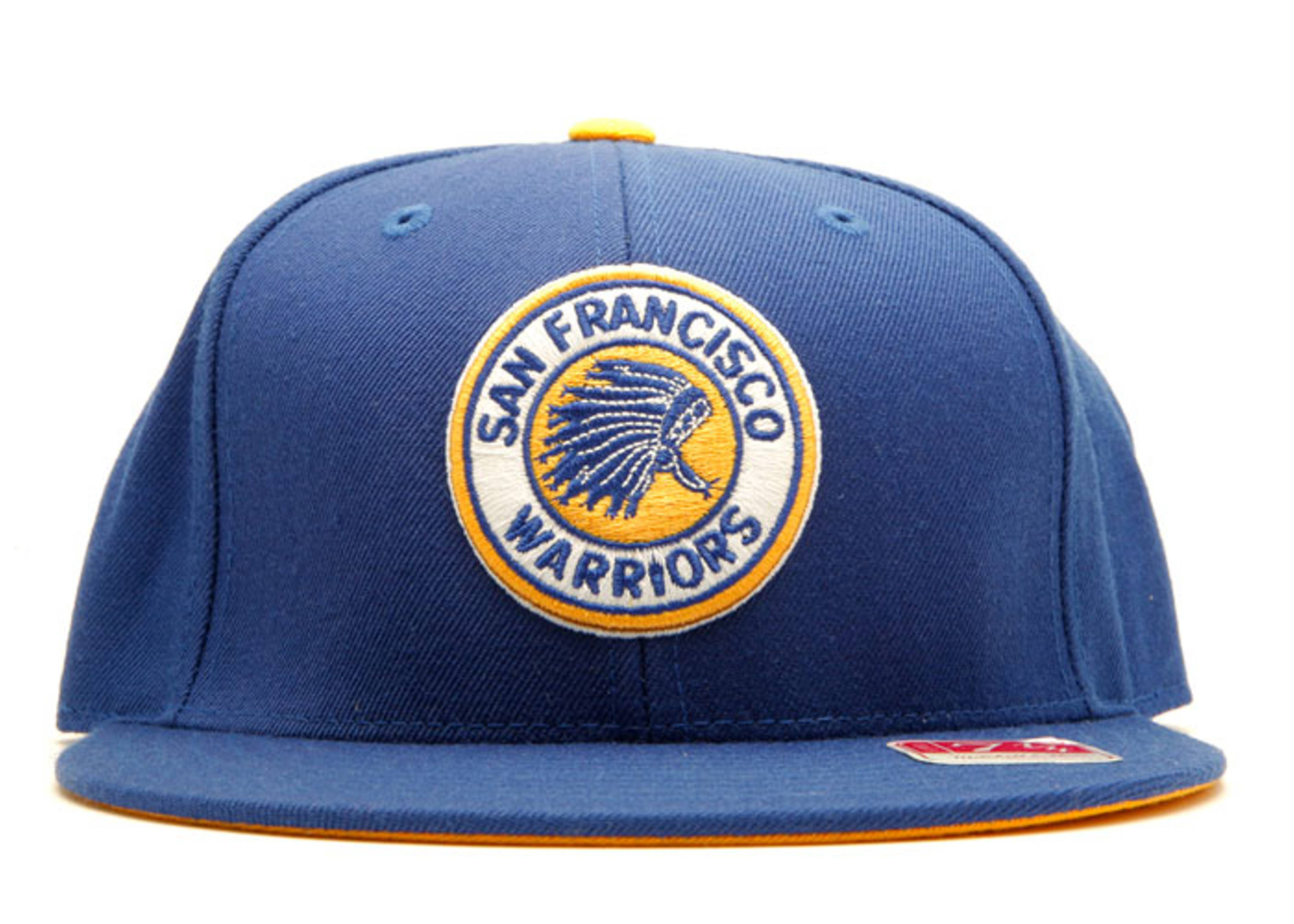 "san francisco warriors fitted ""chief head"""