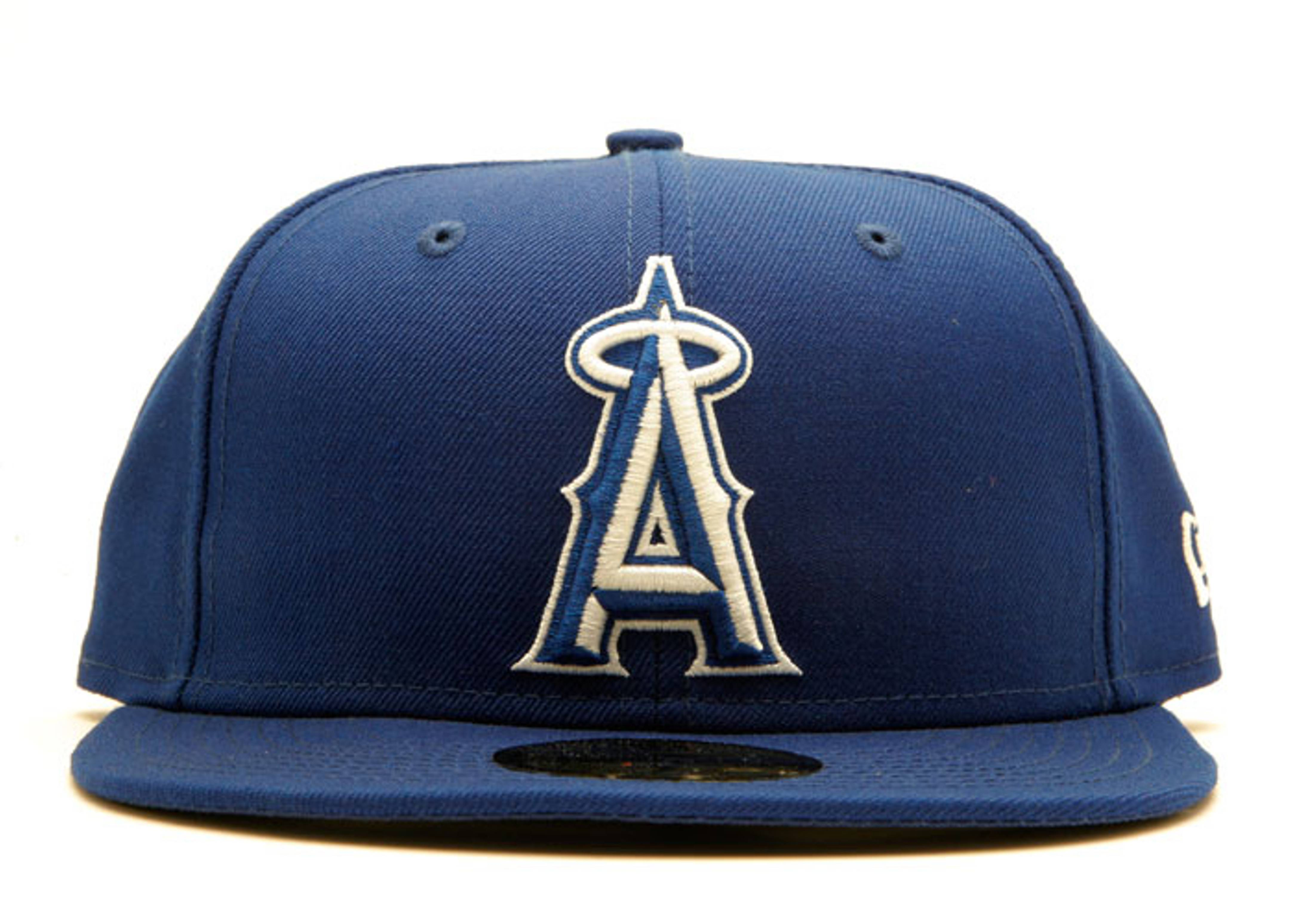 "la angels of anaheim fitted ""outline"""