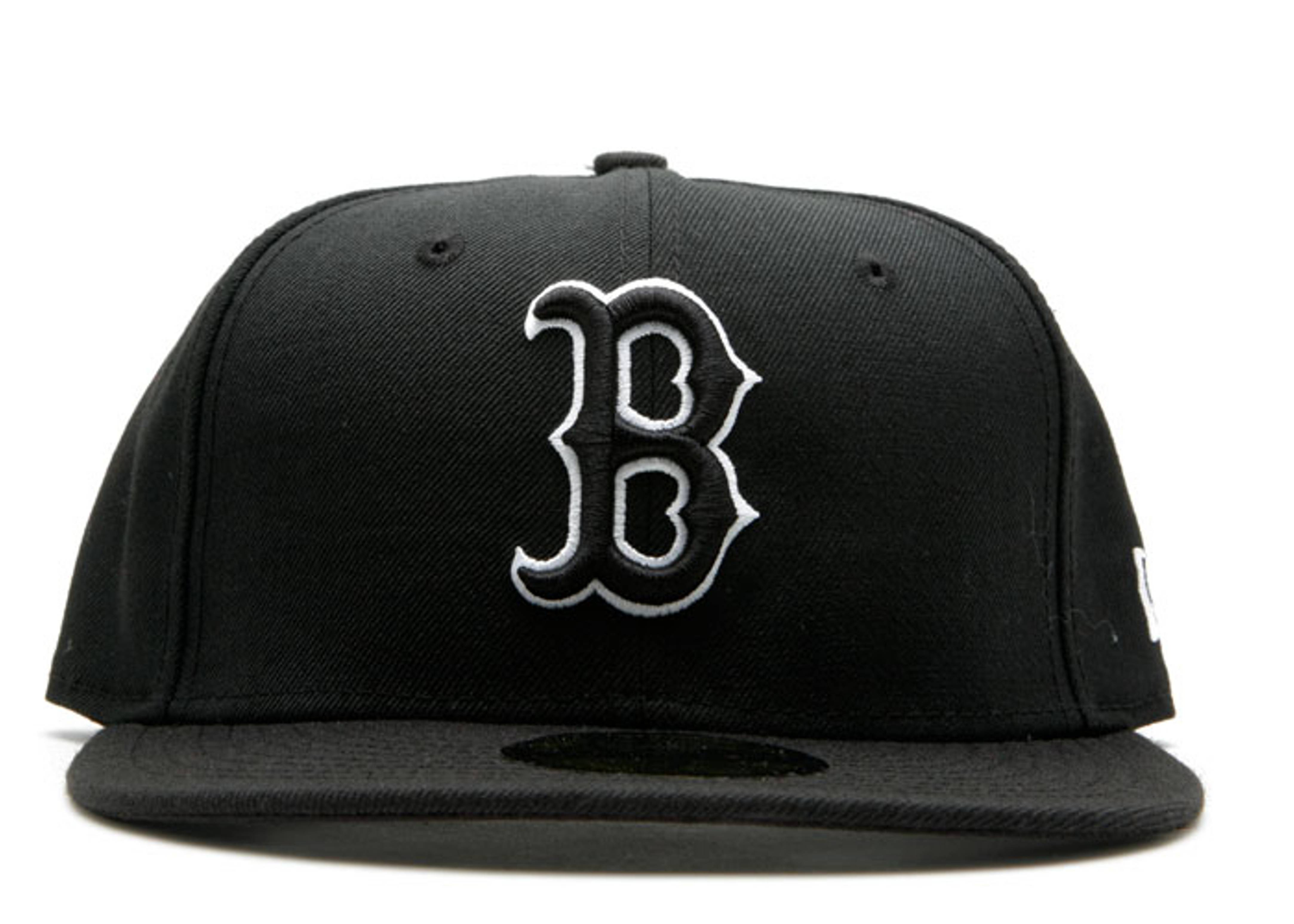 "boston red sox fitted ""outline"""