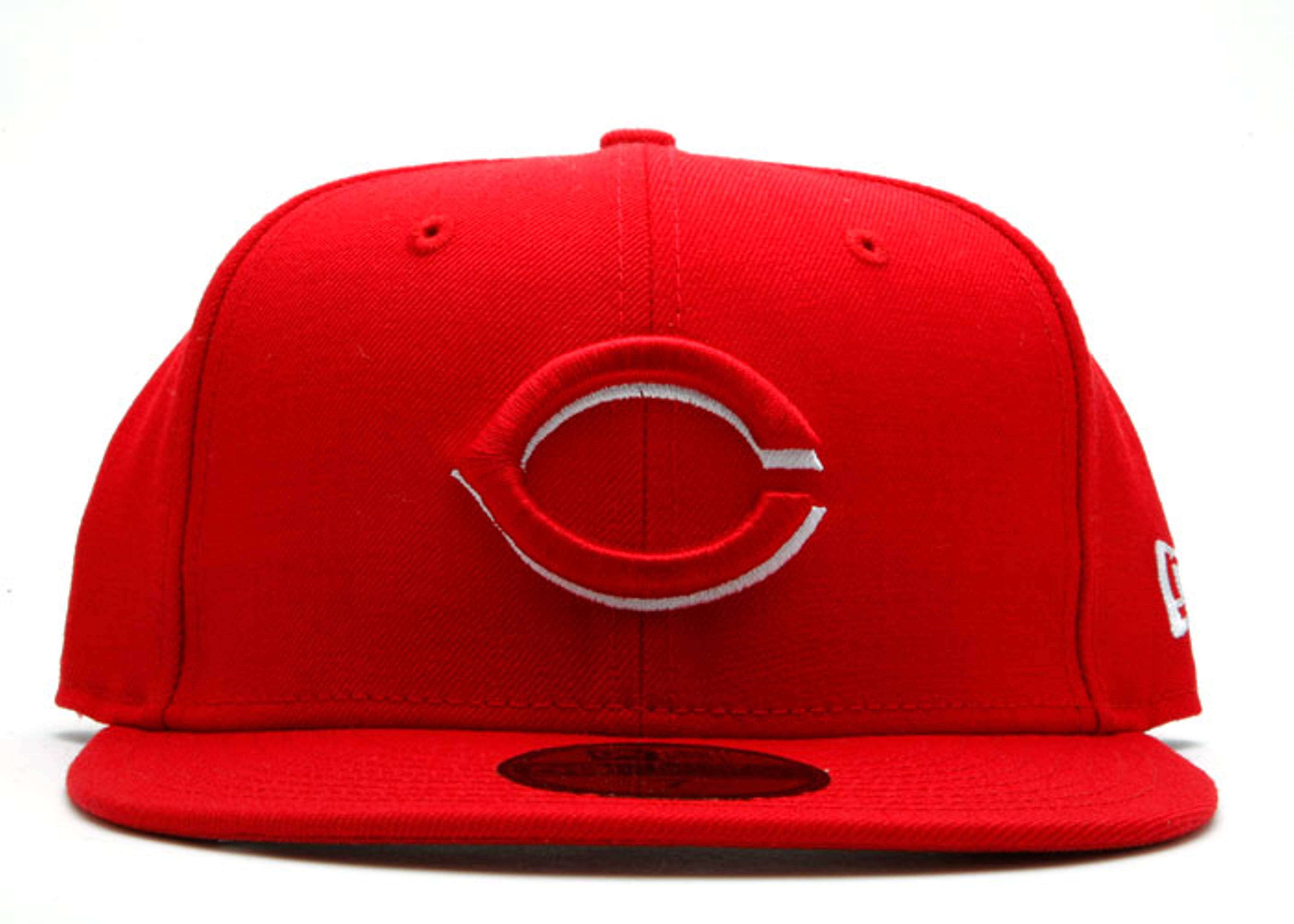 "cincinnatti reds fitted ""outline"""