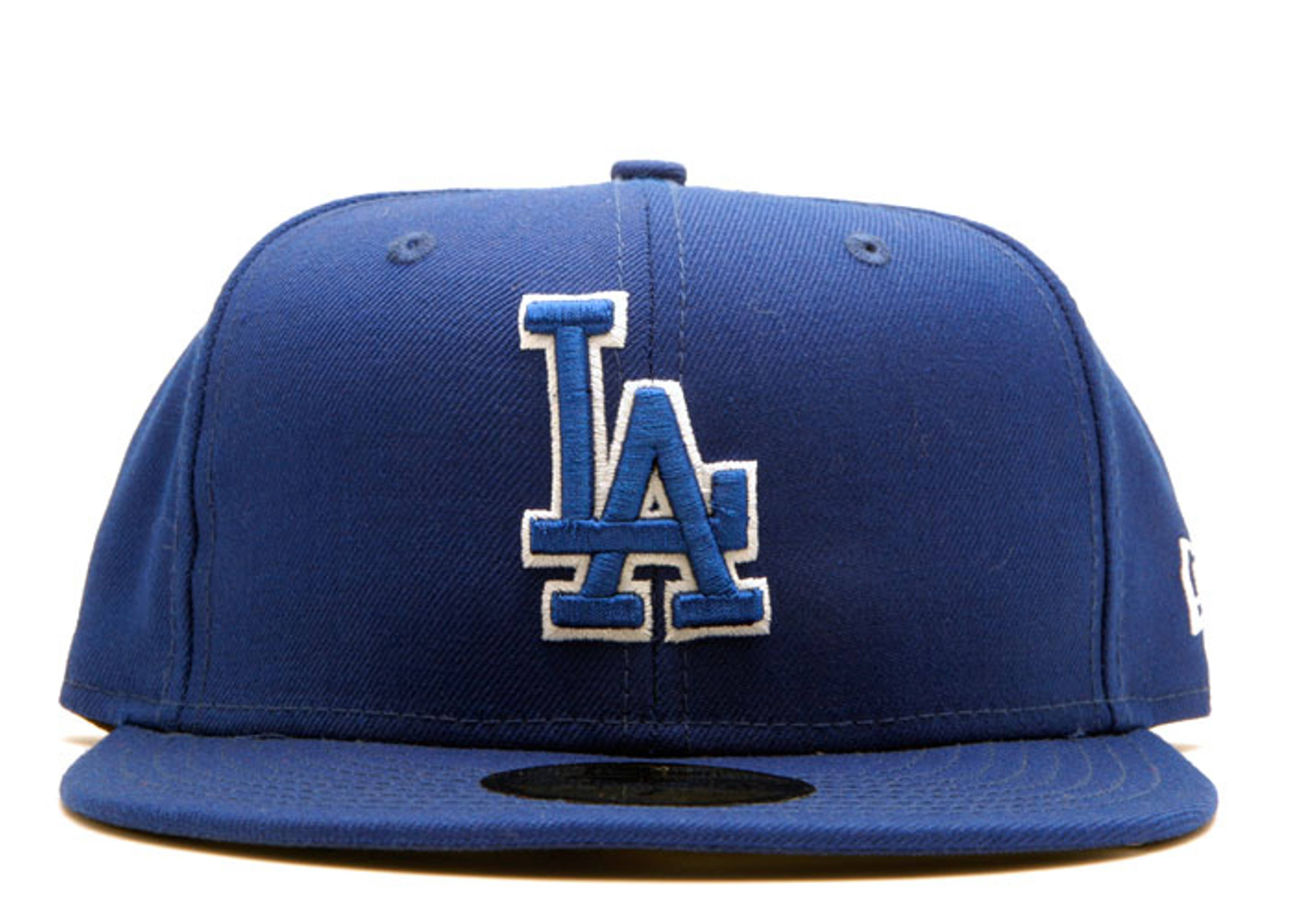 """los angeles dodgers fitted """"outline"""""""