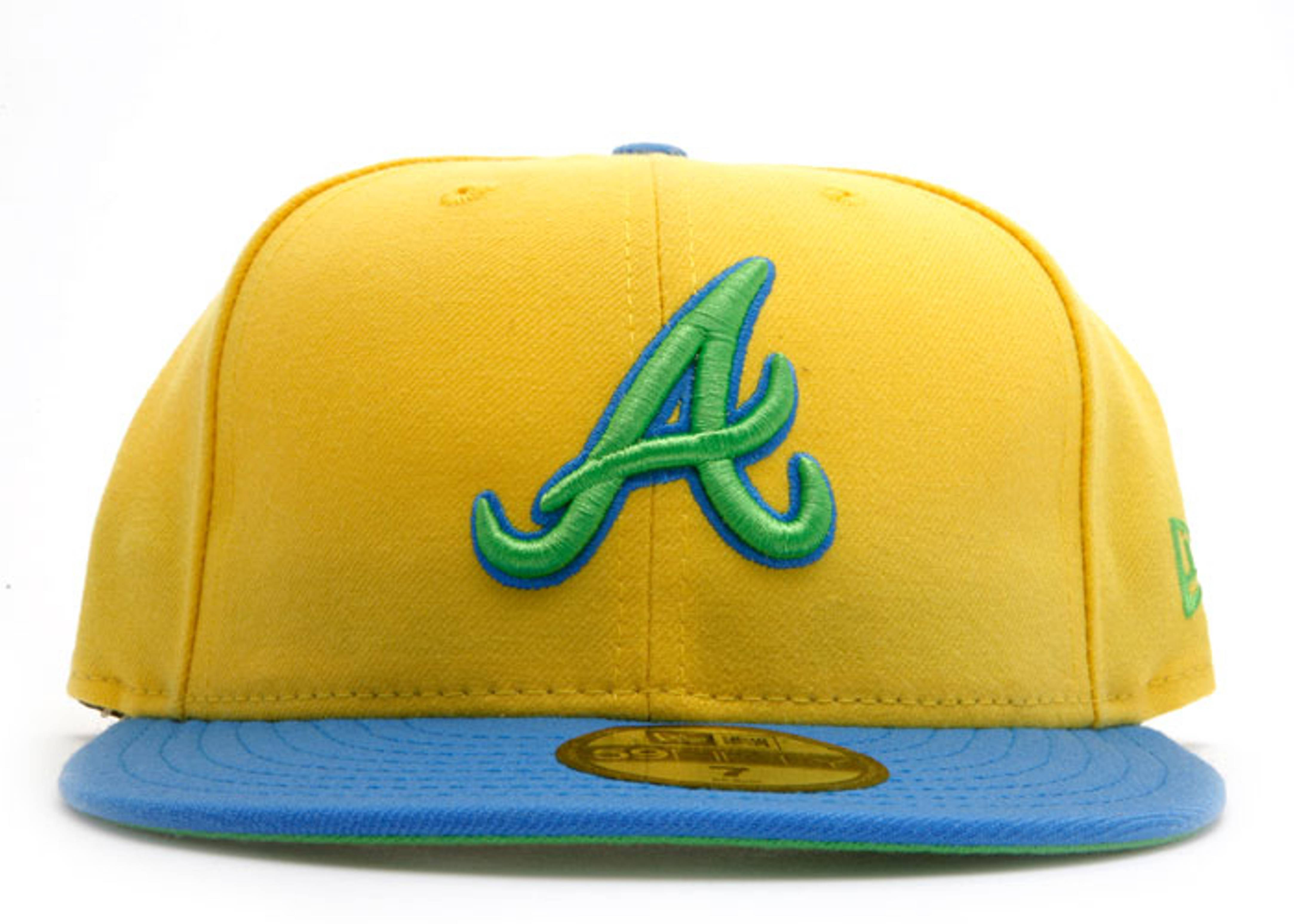 """atlanta braves fitted """"marge simpson"""""""