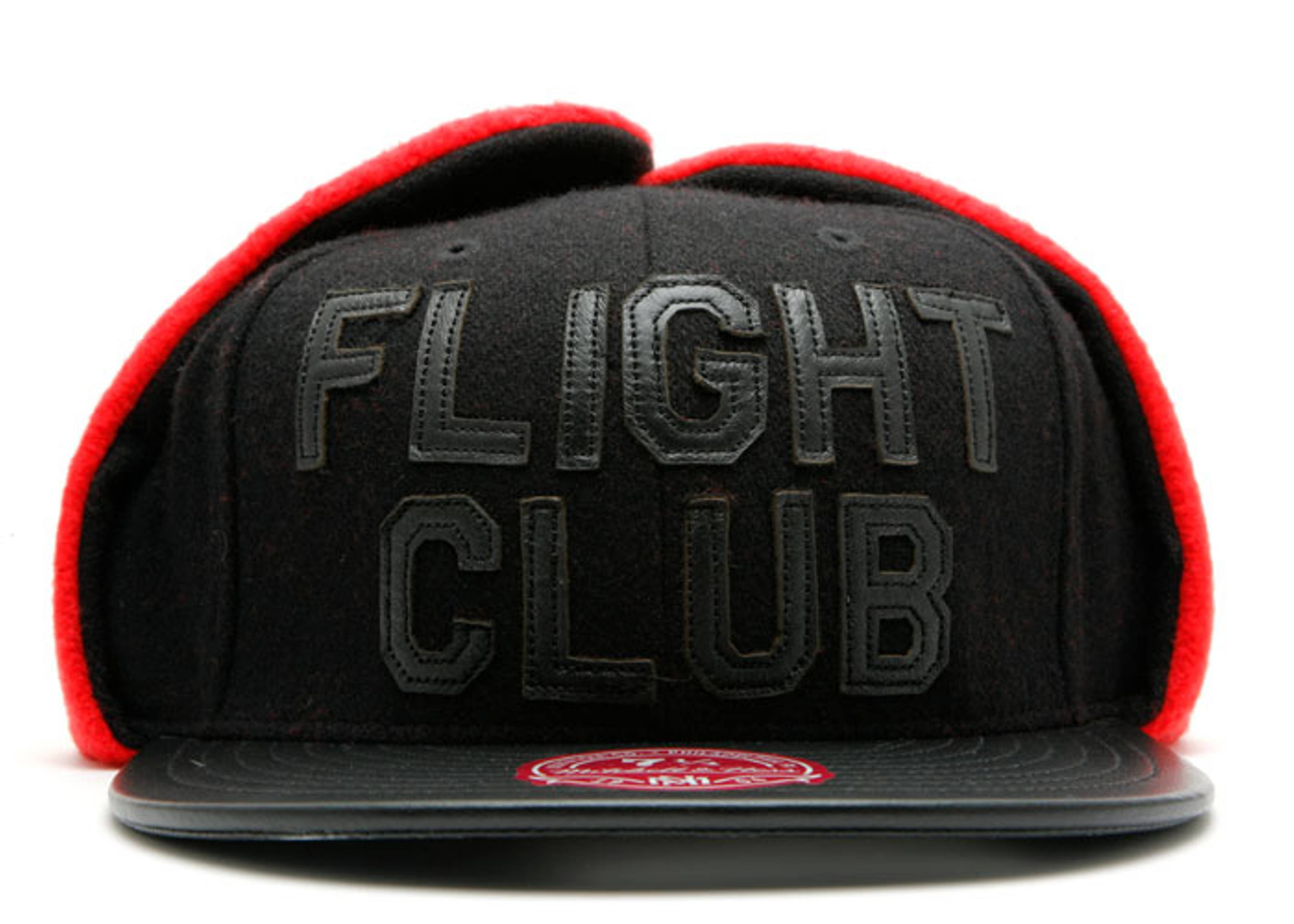 """fc x mitchell & ness floppy ear fitted """"c.r.e.a.m team"""""""