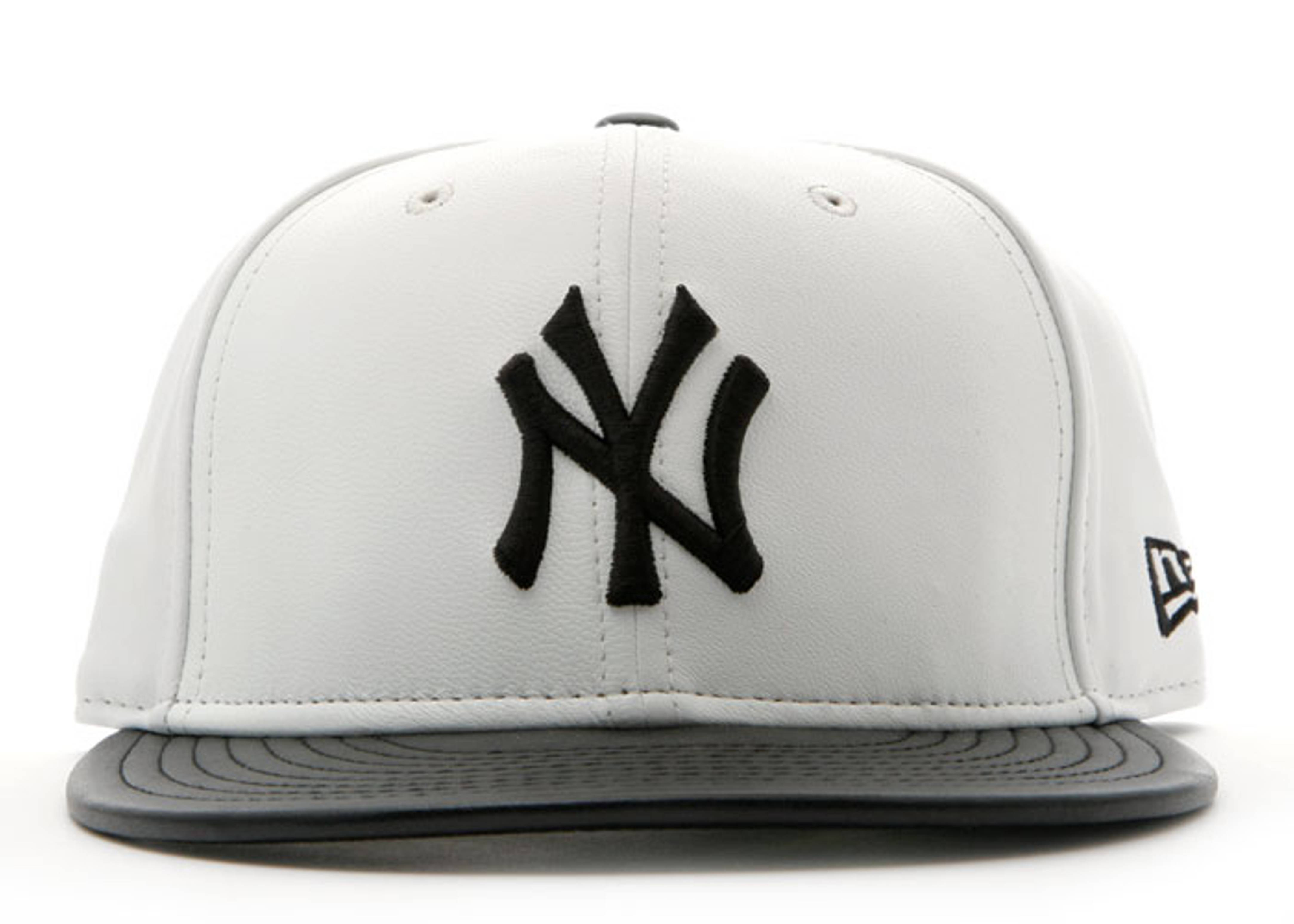 """new york yankees fitted """"leather"""""""
