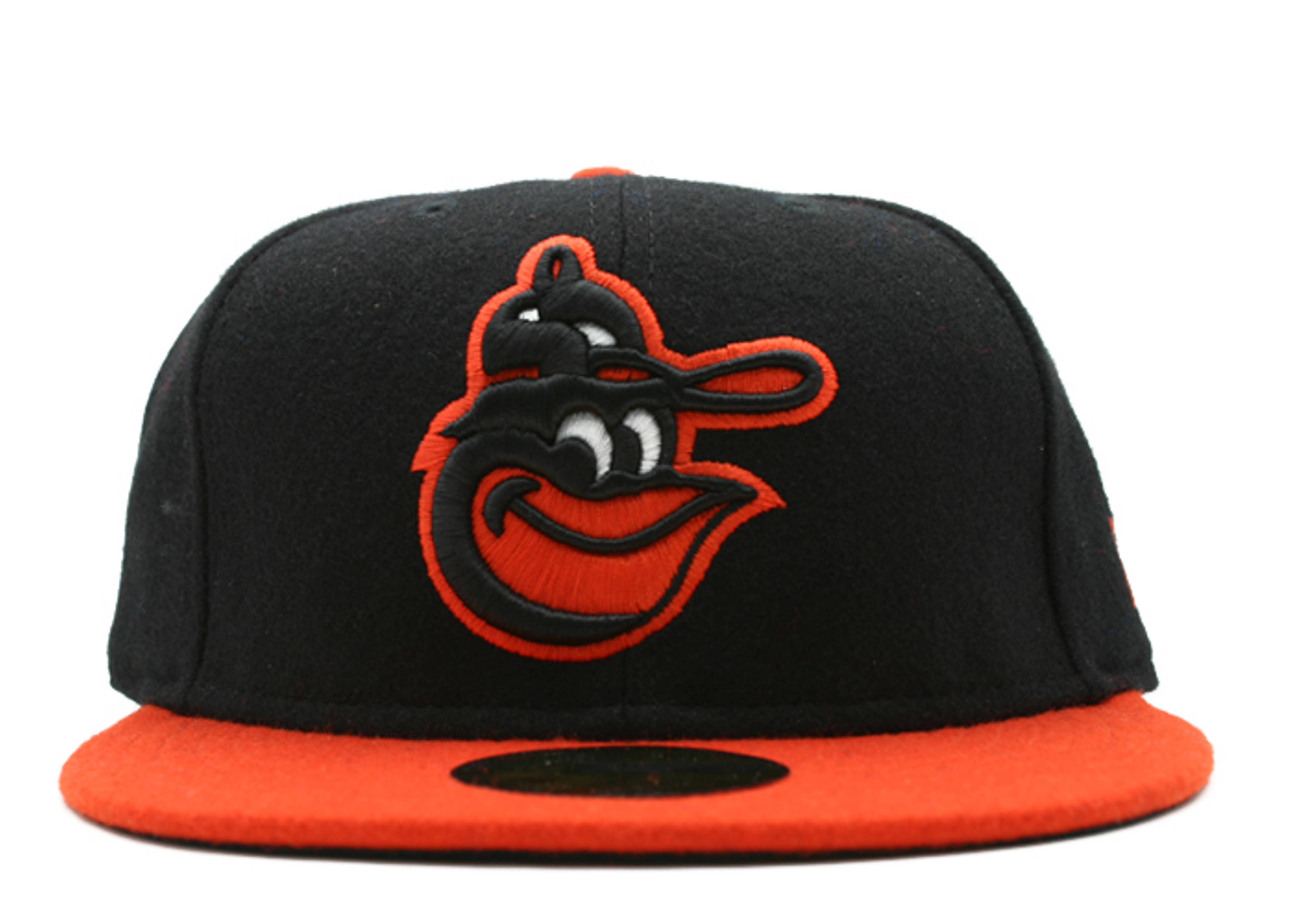 "baltimore orioles fitted ""2-tone melton"""