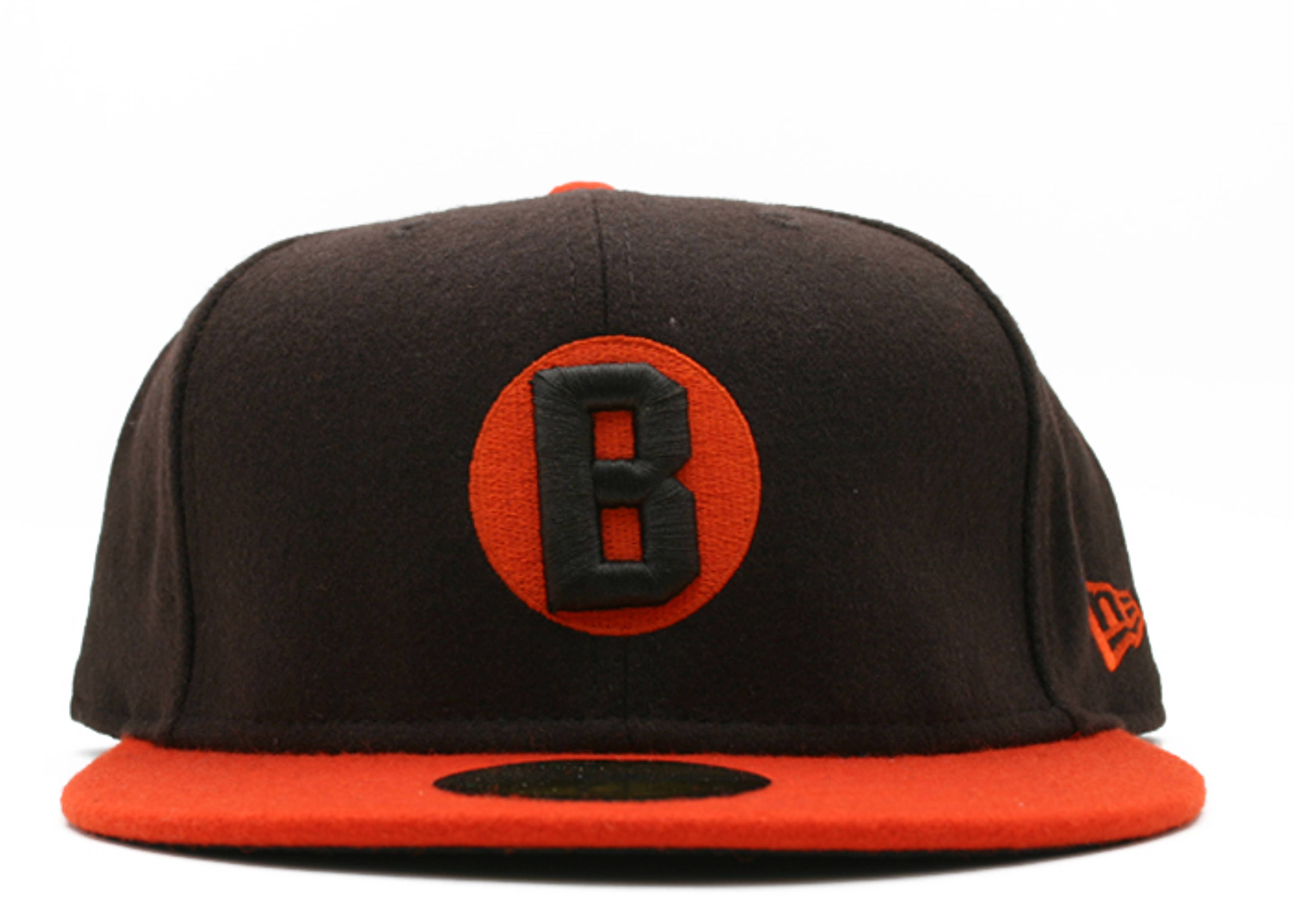 """baltimore black sox fitted """"2-tone melton"""""""