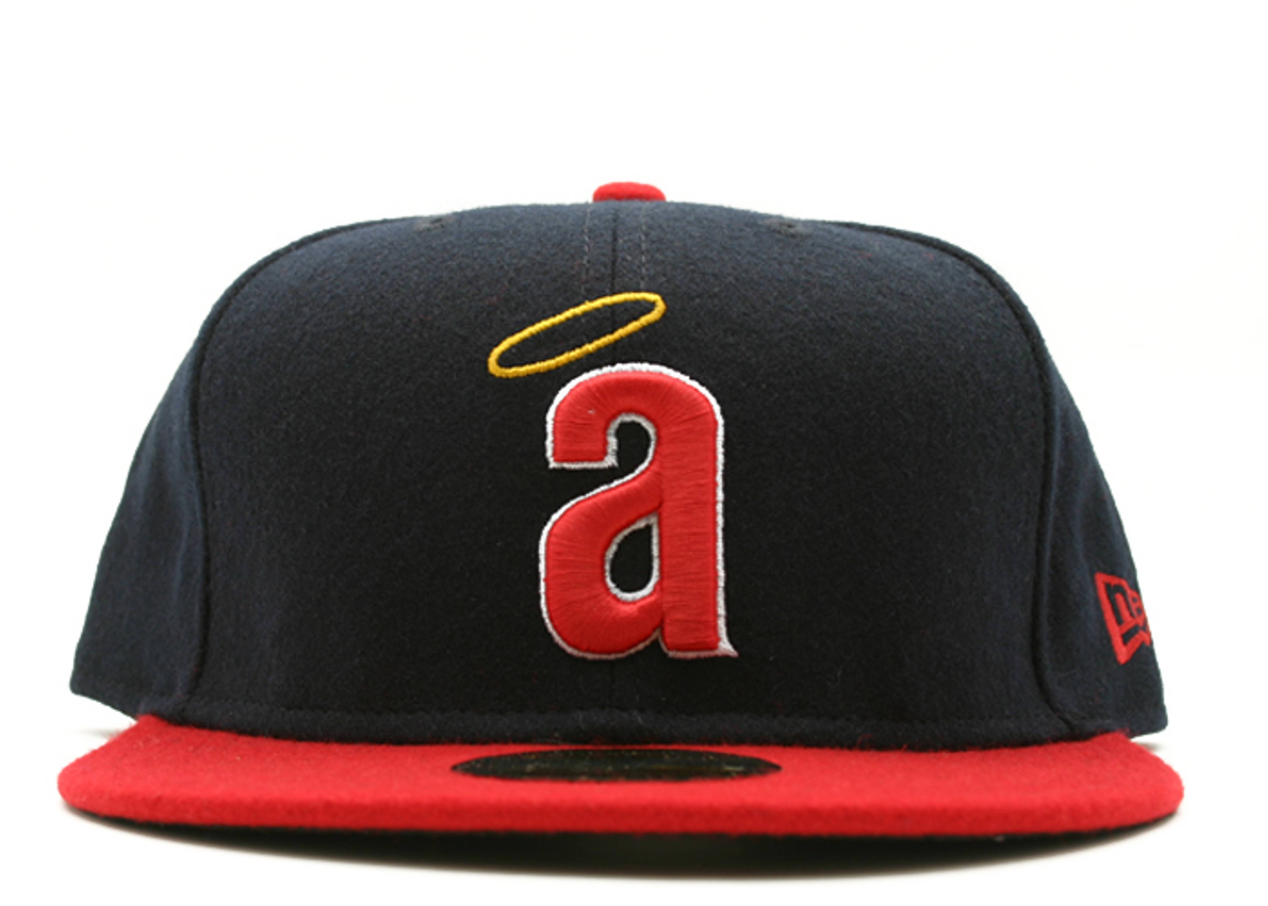 """california angels fitted """"2-tone melton"""""""