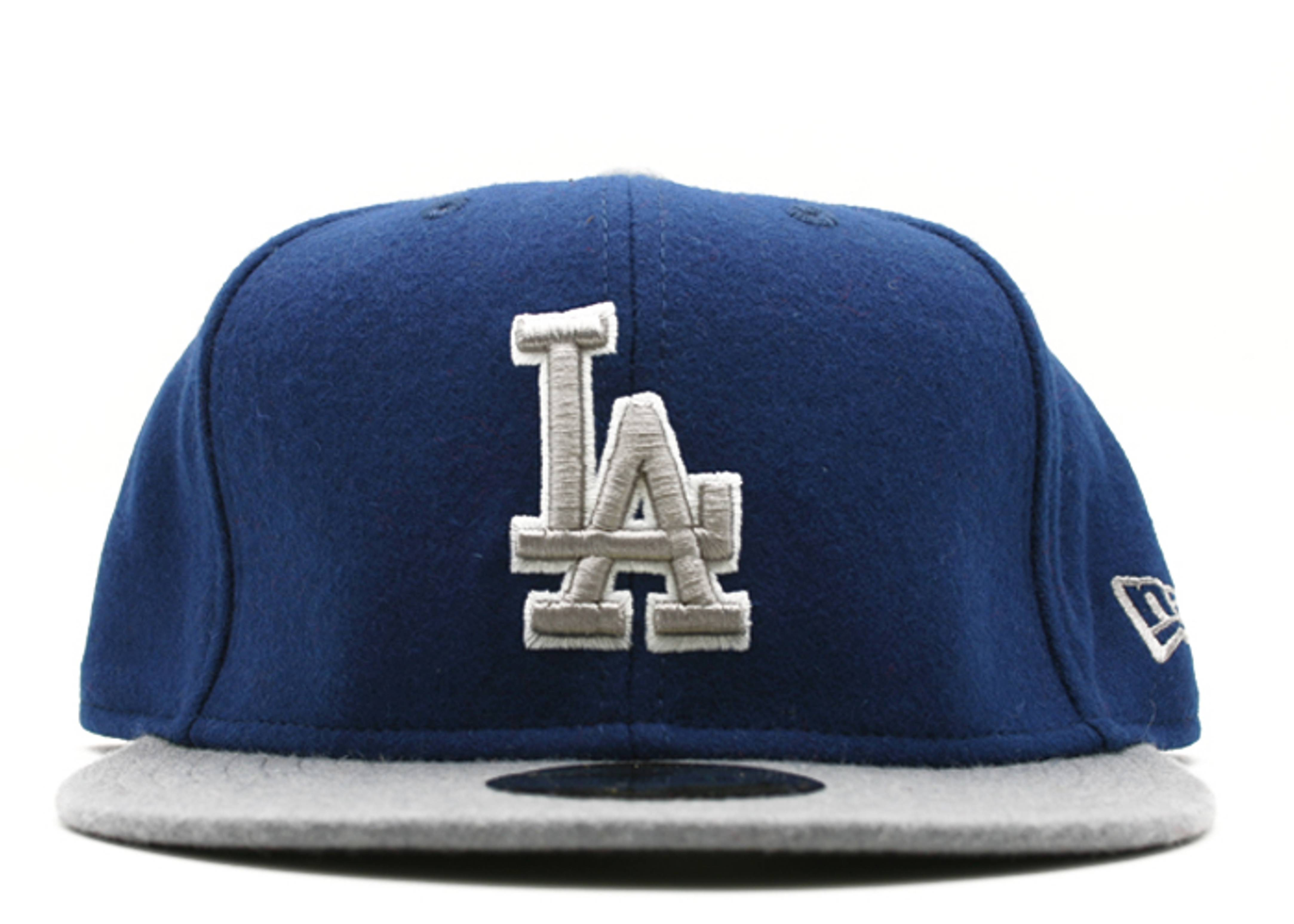"""los angeles dodgers fitted """"2-tone melton"""""""