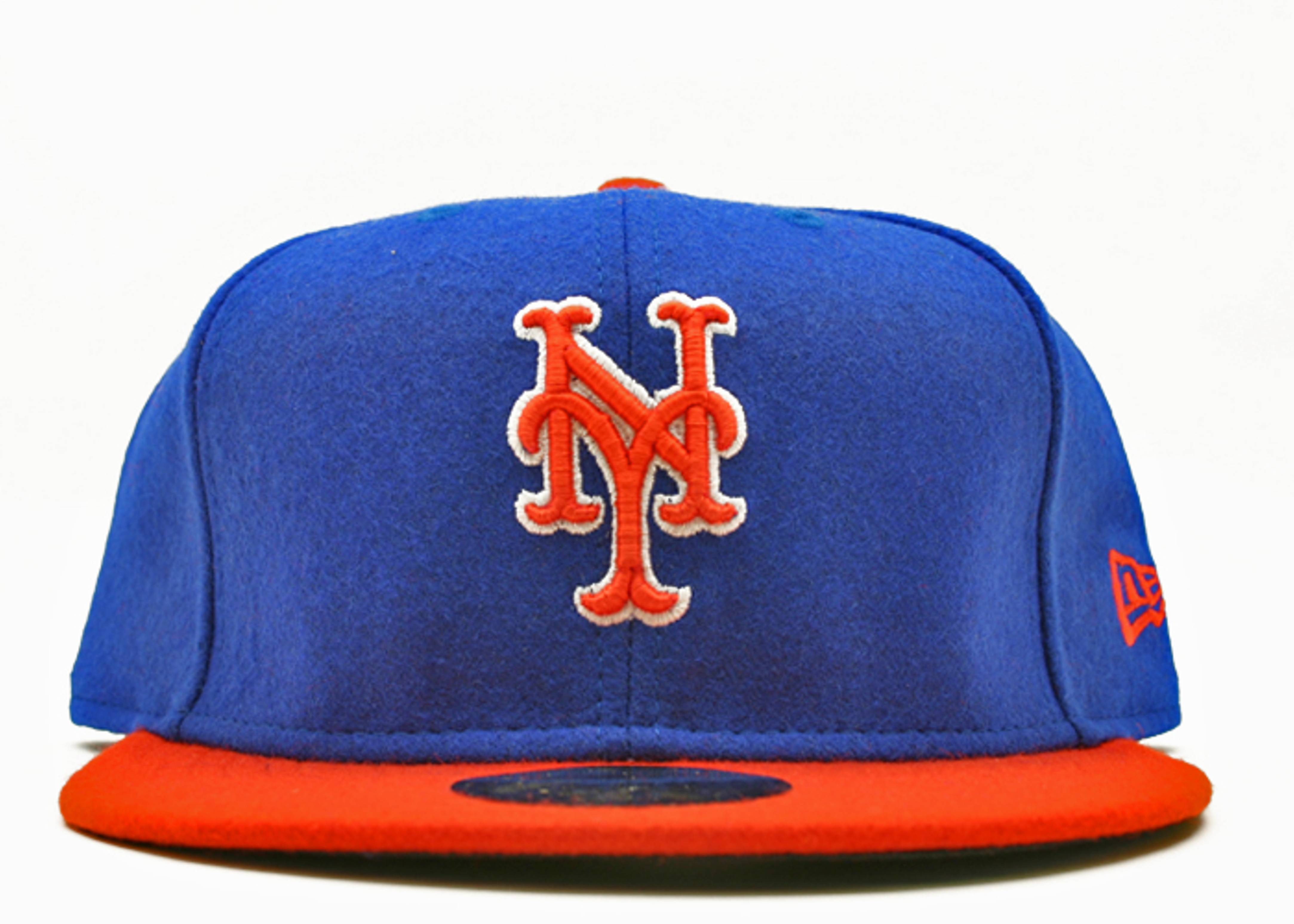"new york mets fitted ""2-tone melton"""