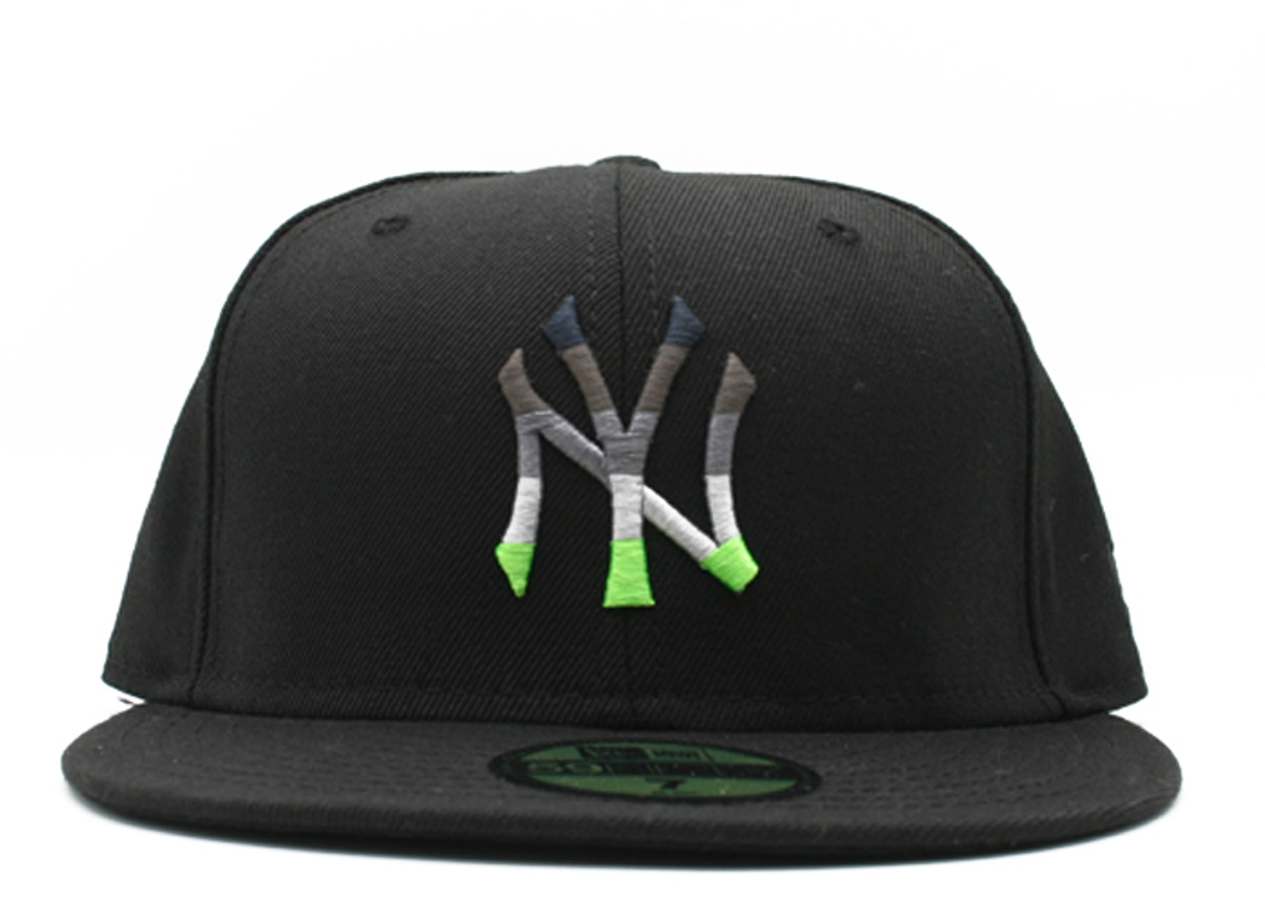 """new york yankees fitted """"neon air max 95"""""""