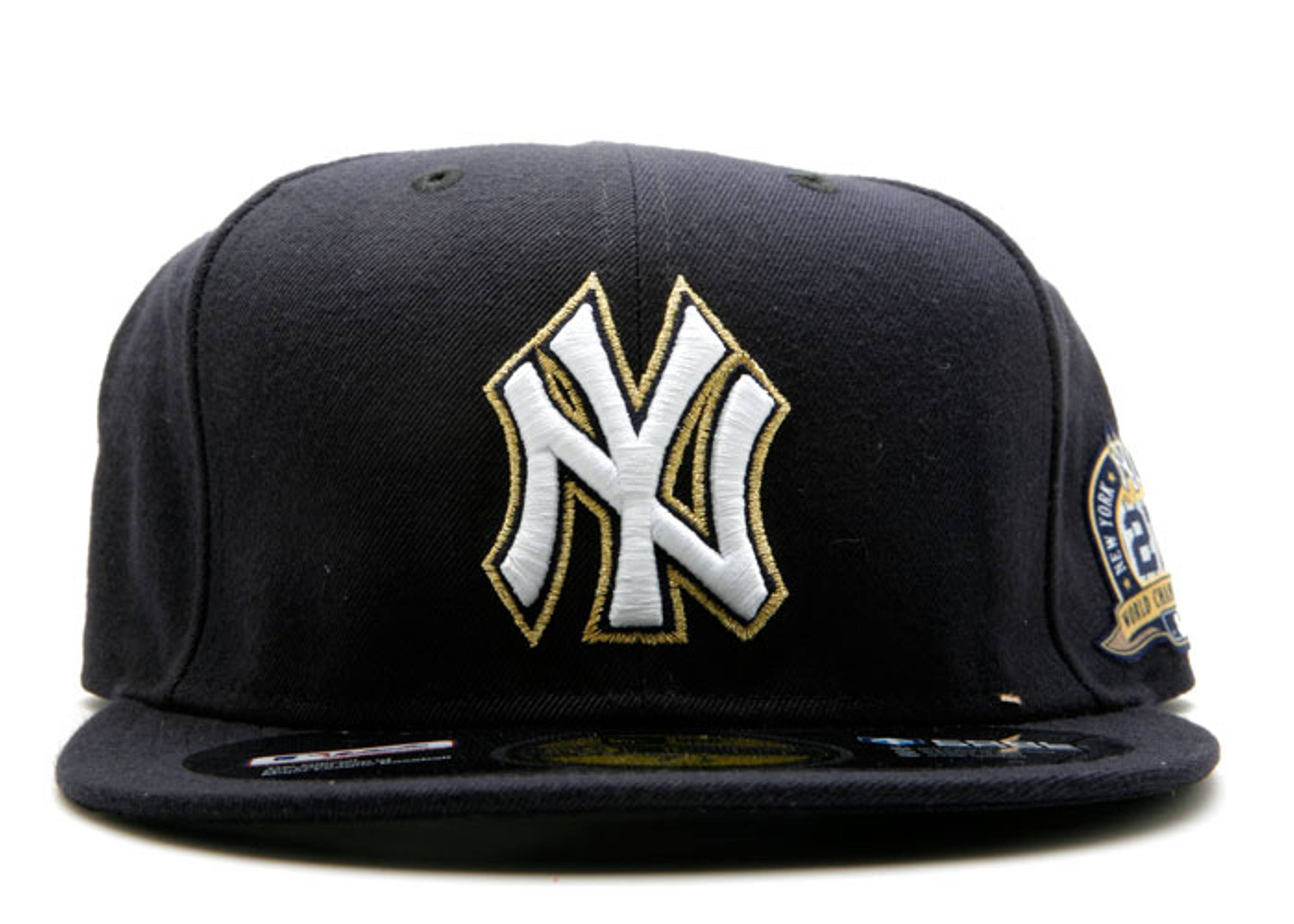 "new york yankees fitted ""world championship patch"""