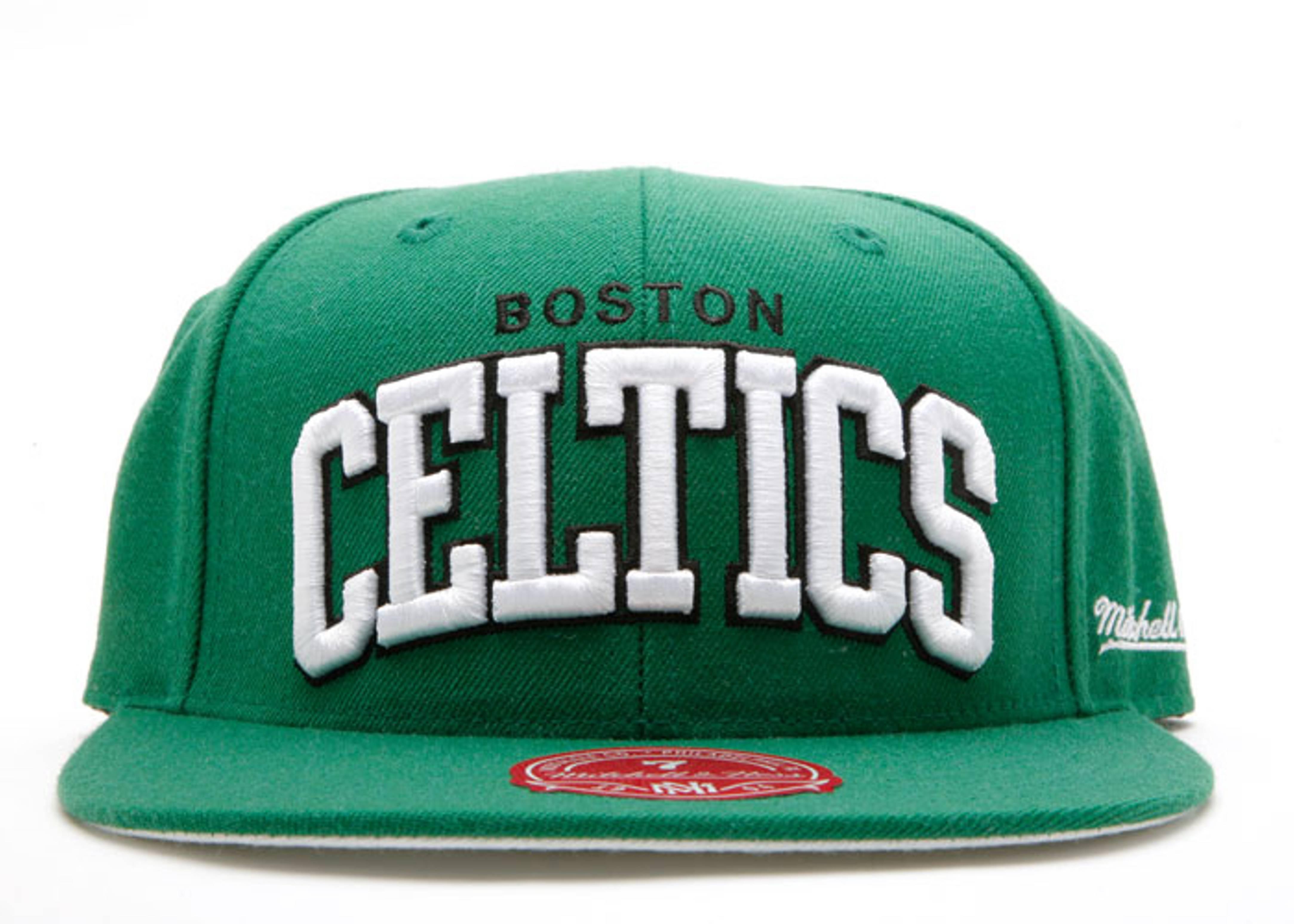 "boston celtics fitted ""arch logo"""
