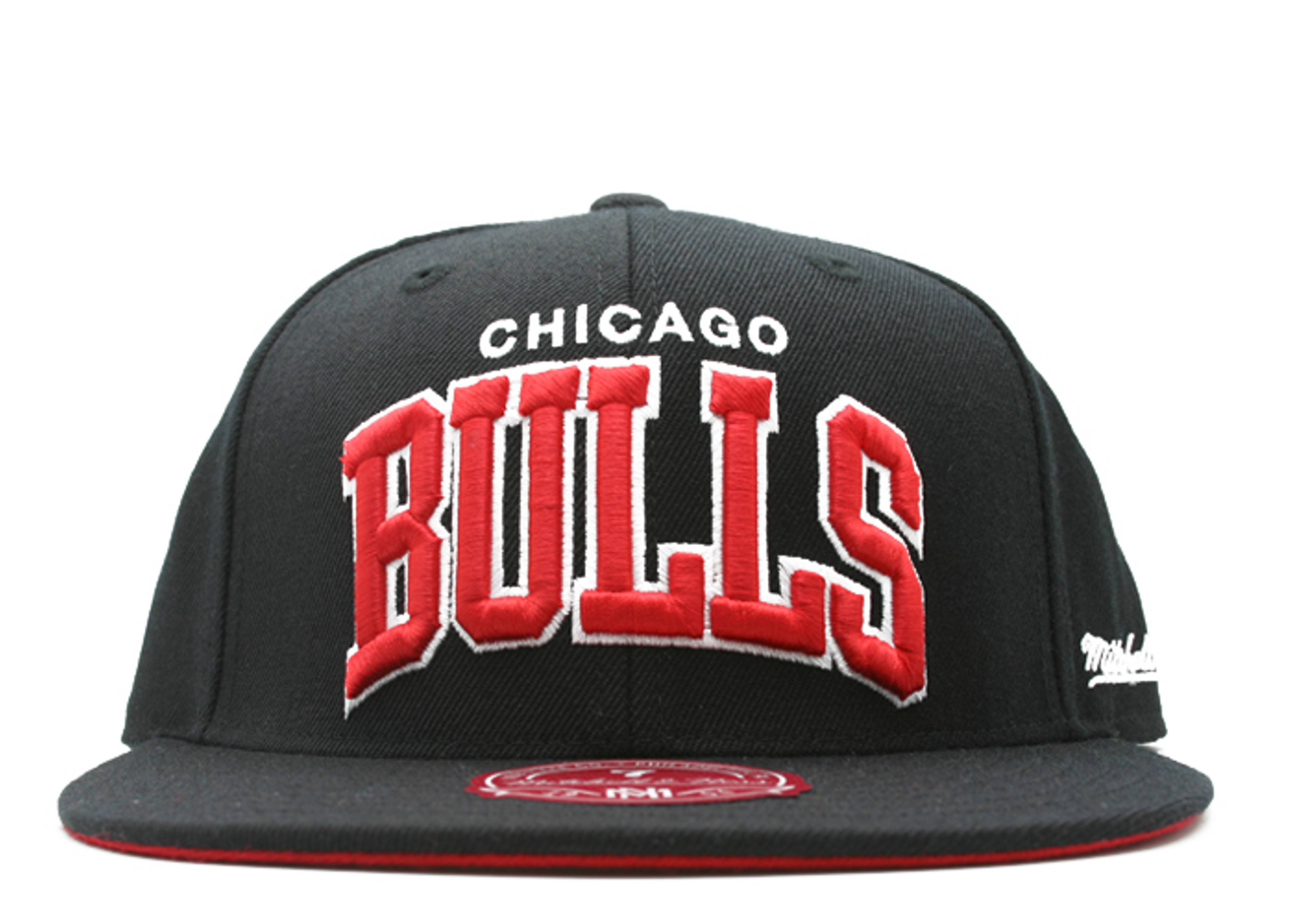 "chicago bulls fitted ""arch logo"""