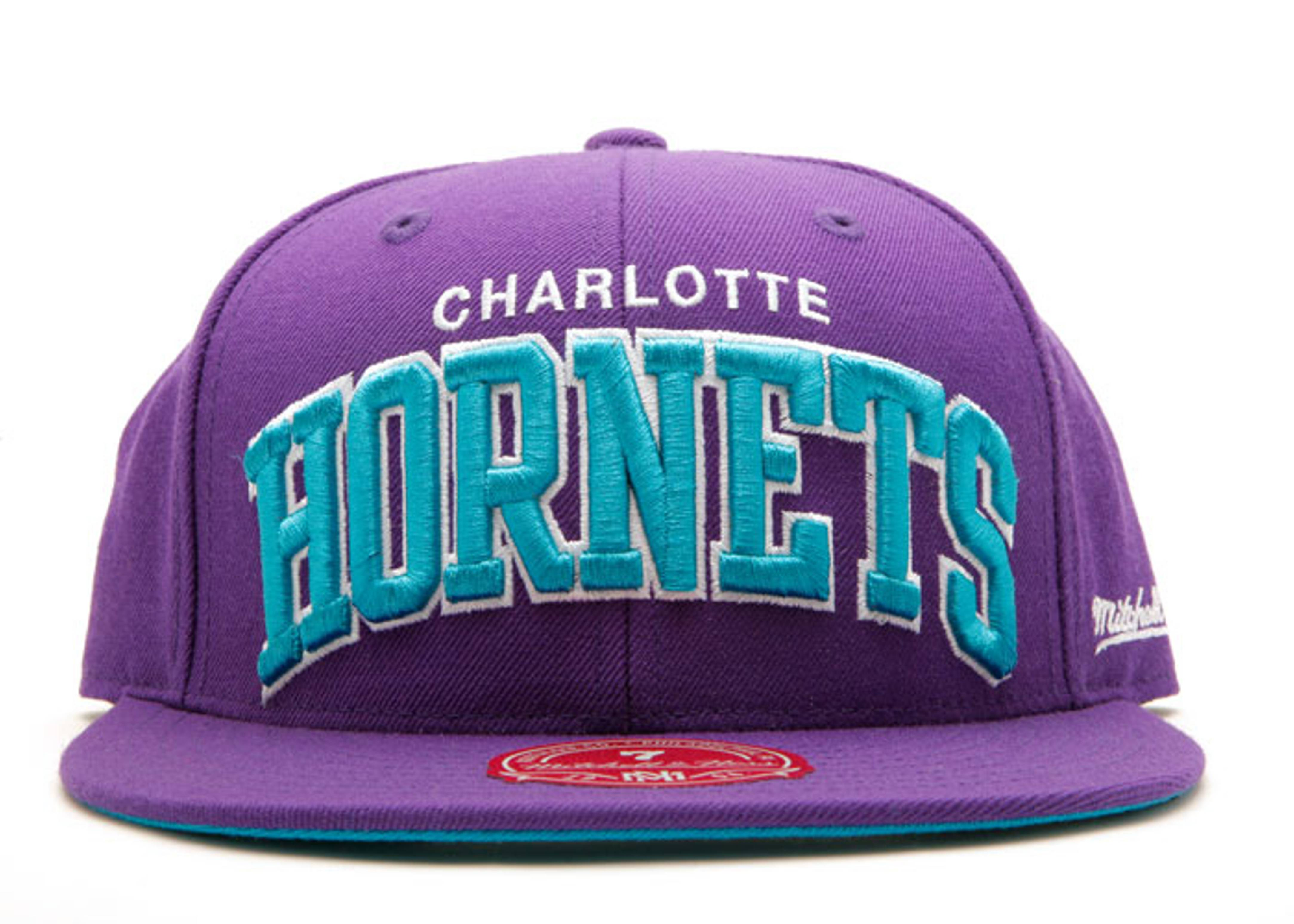 """charlotte hornets fitted """"arch logo"""""""