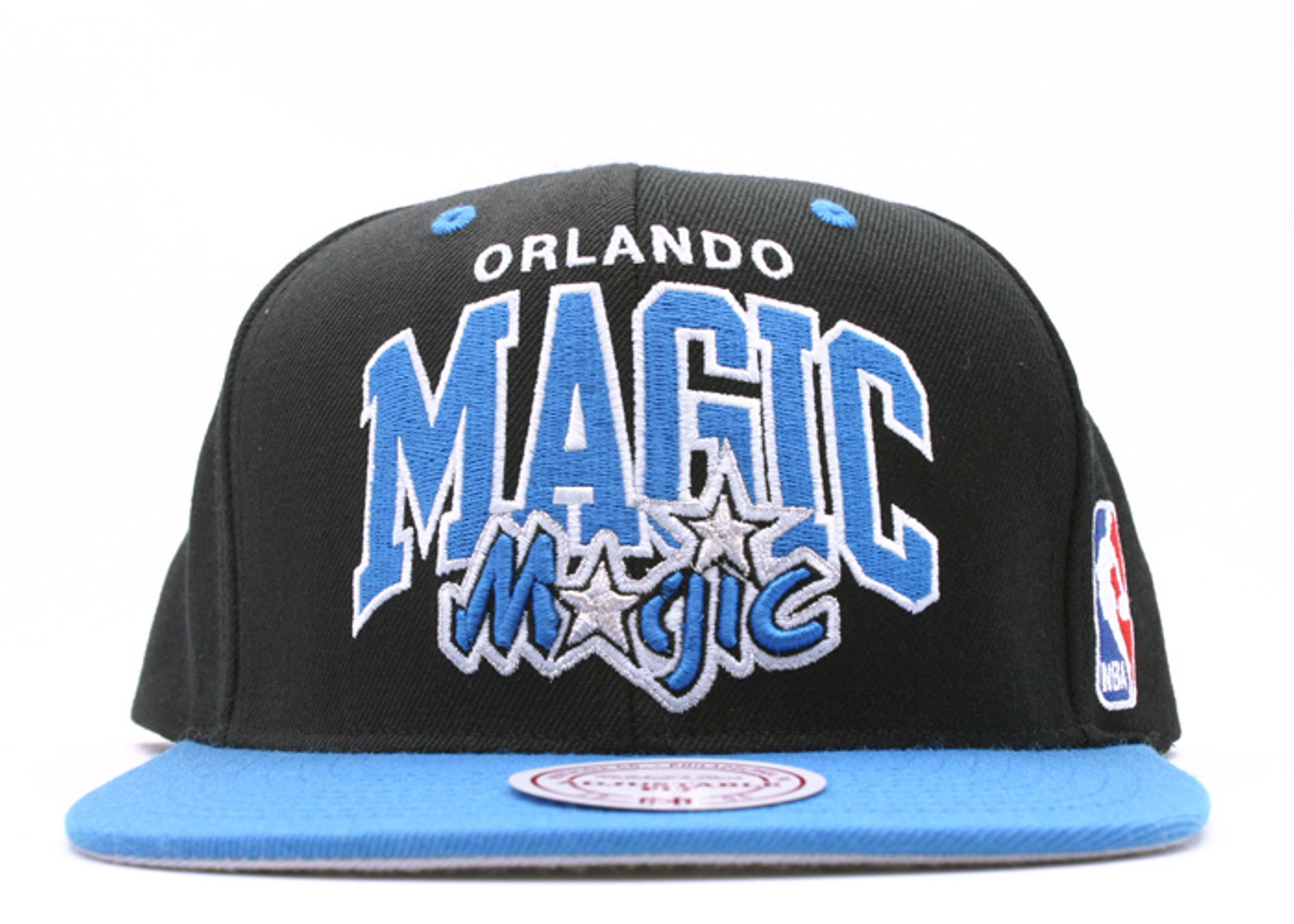 "orlando magic 2tone snap-back ""arch logo"""