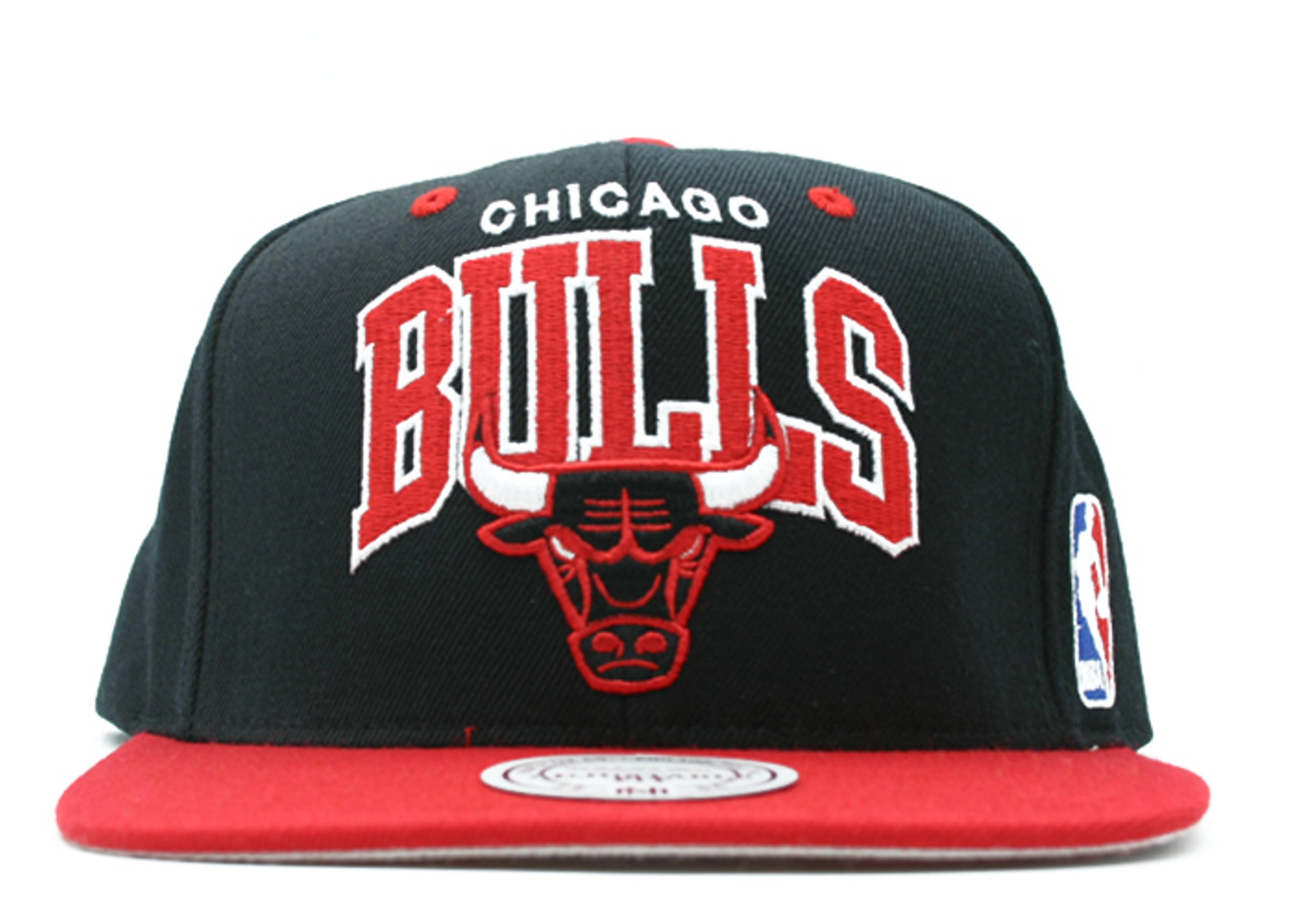 "chicago bulls 2tone snap-back ""arch logo"""