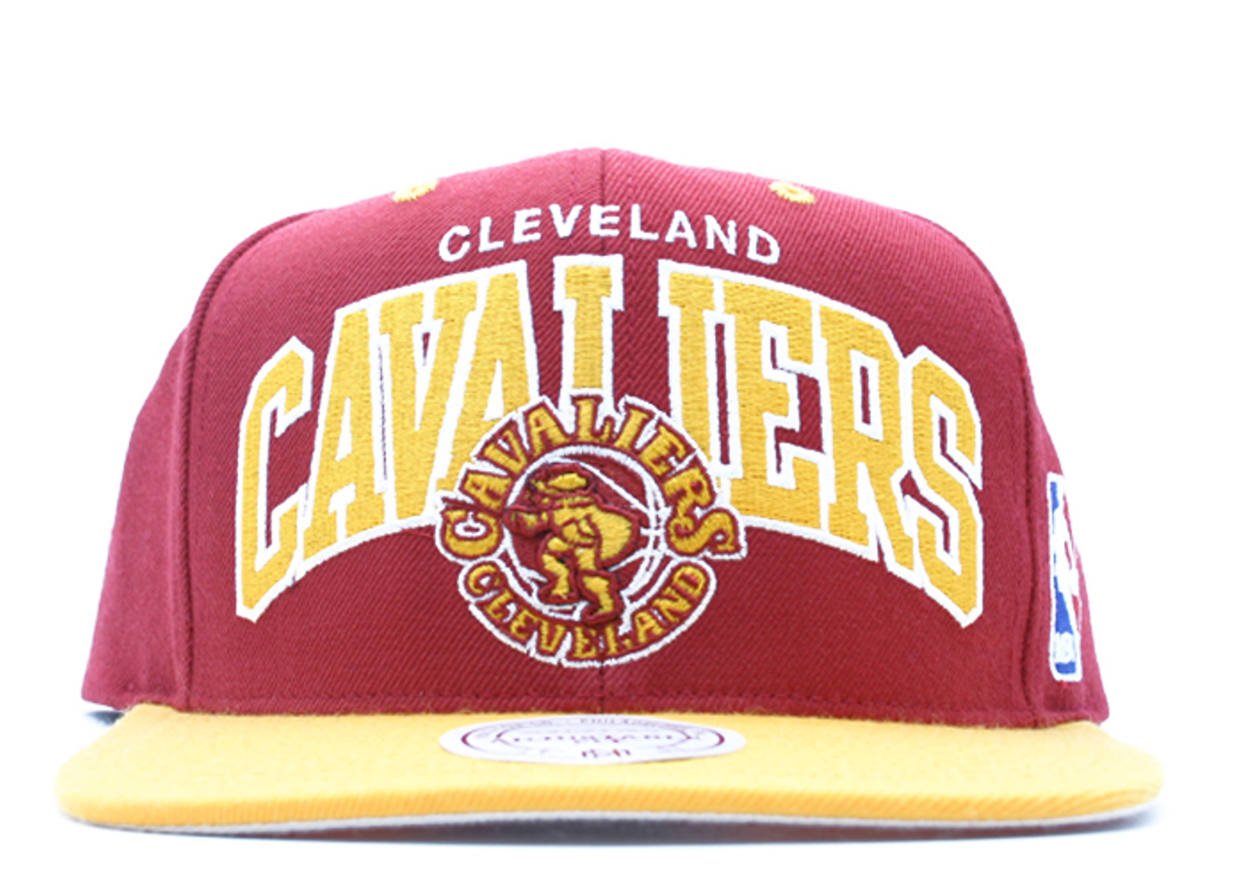 "cleveland cavaliers 2tone snap-back ""arch logo"""