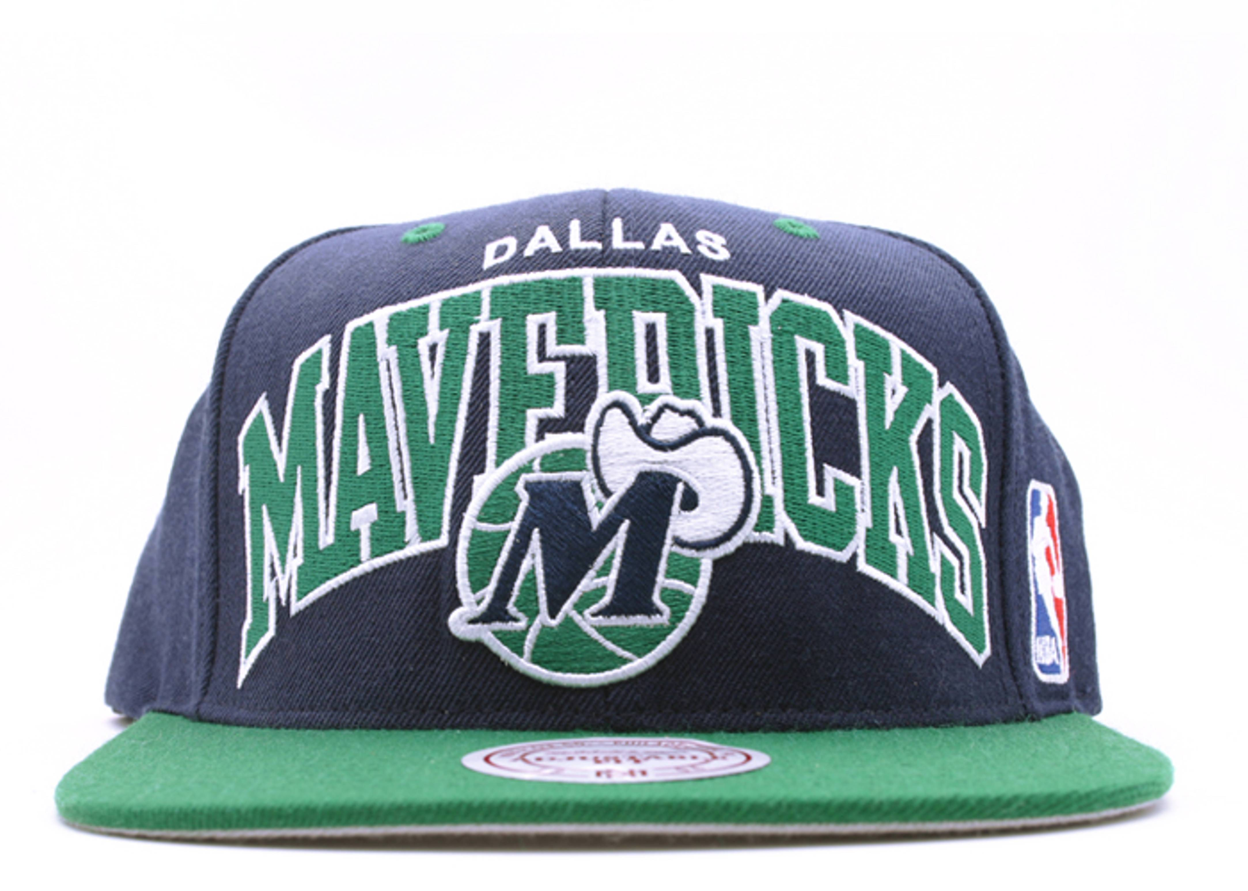 "dallas mavericks 2tone snap-back ""arch logo"""