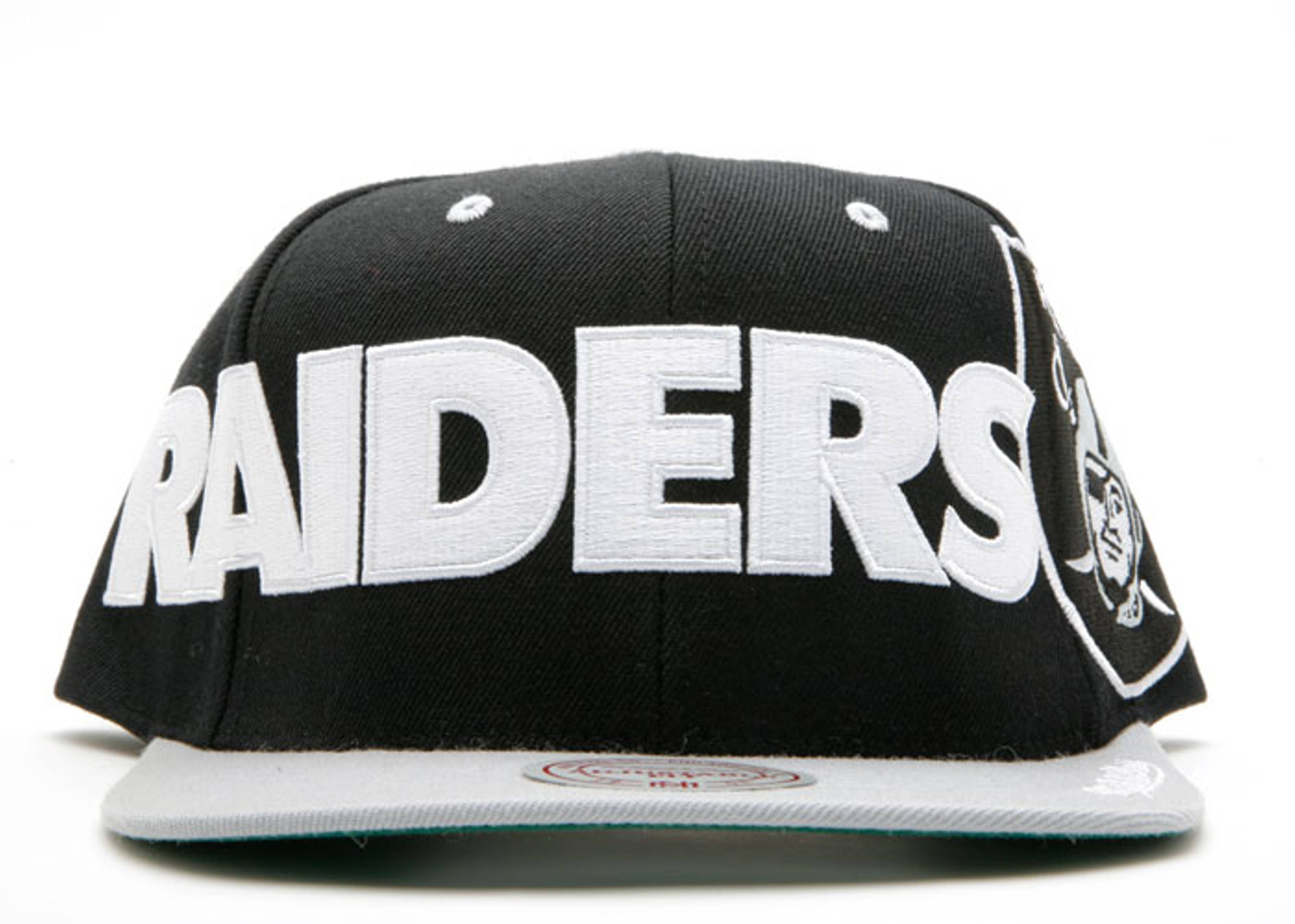 """oakland raiders 2tone snap-back """"spellout"""""""