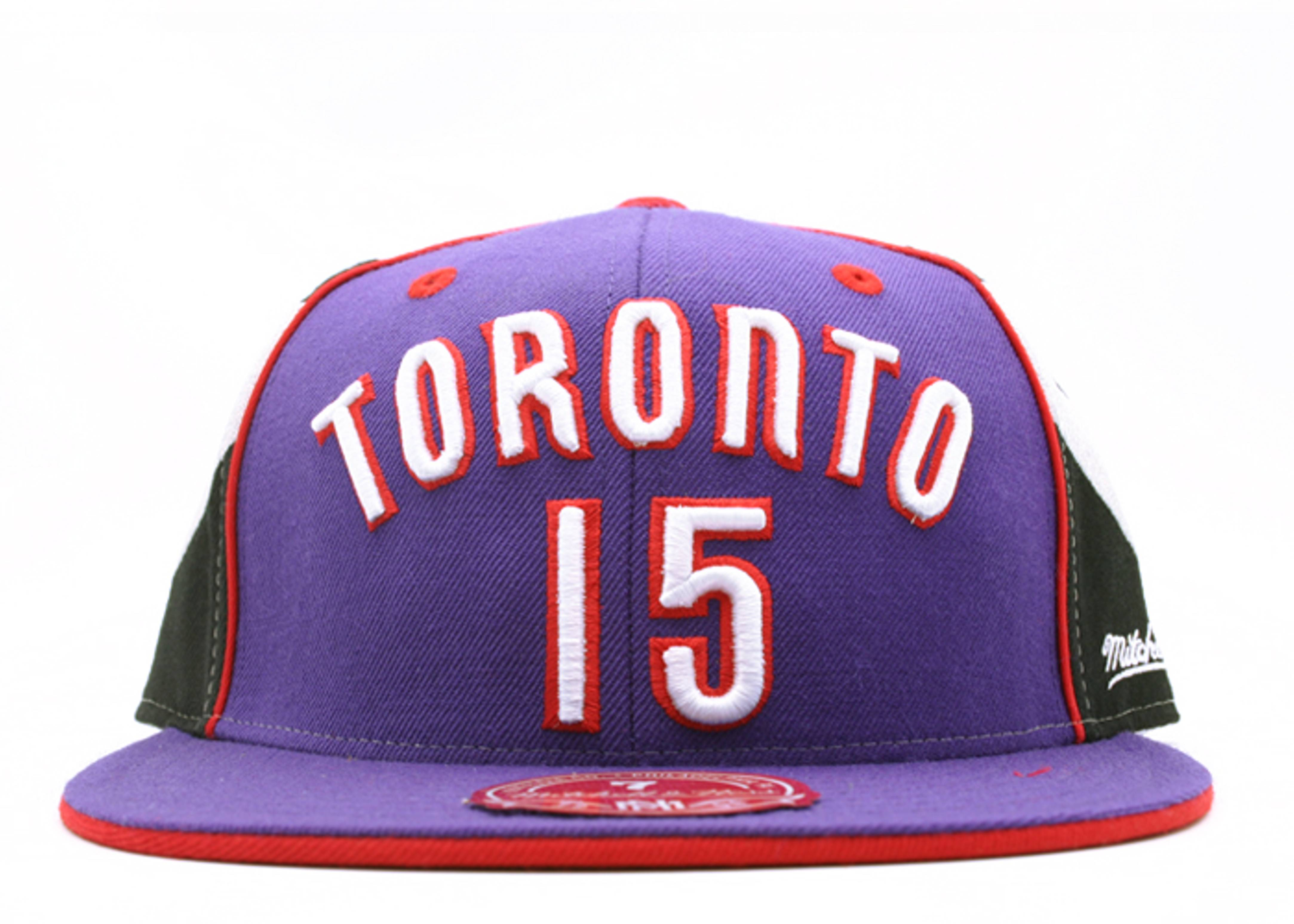 "2000 dunk champ toronto raptors fitted ""vince carter"""