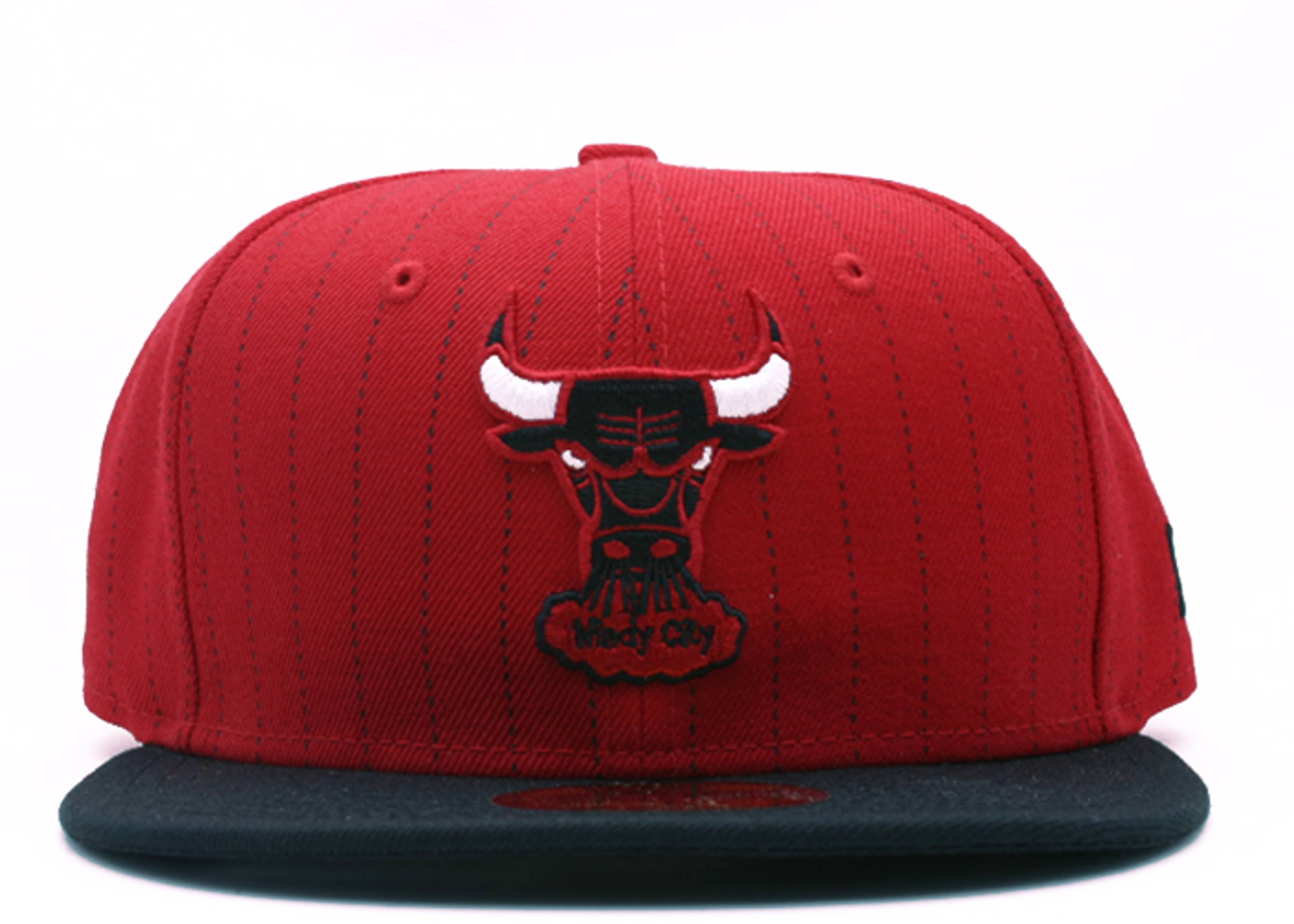 """chicago bulls fitted """"stripe"""""""