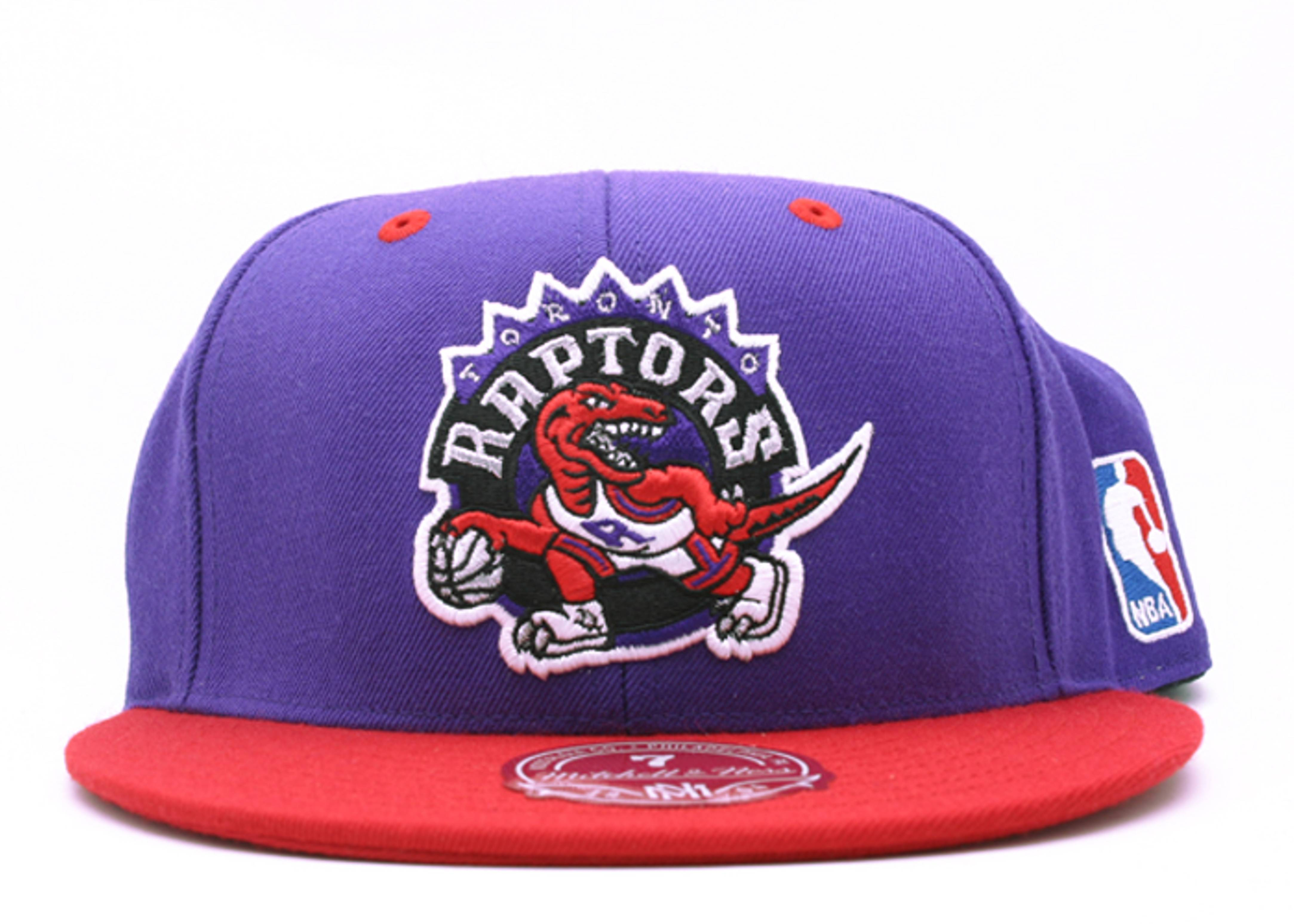 toronto raptors 2tone fitted