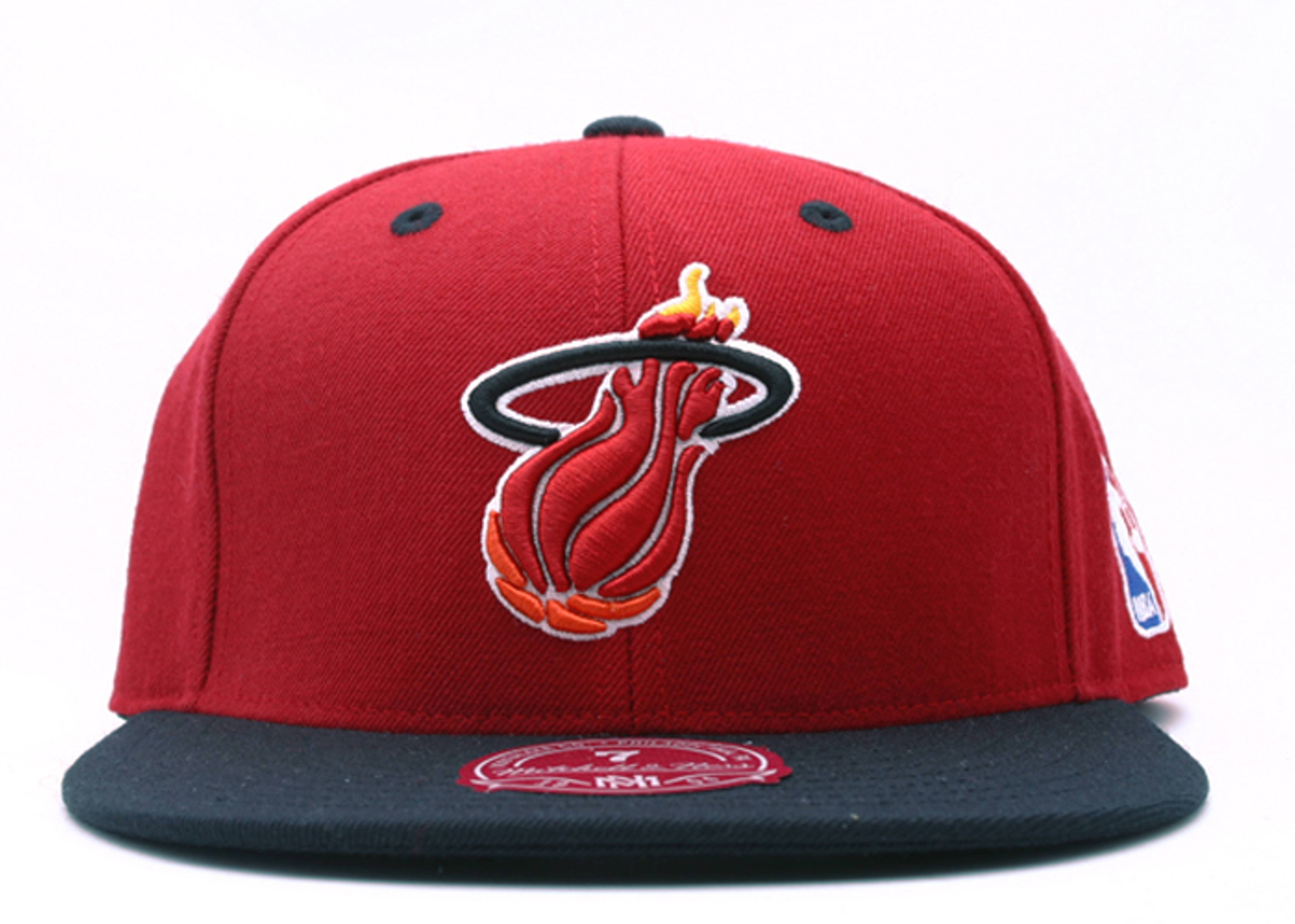 miami heat 2tone fitted