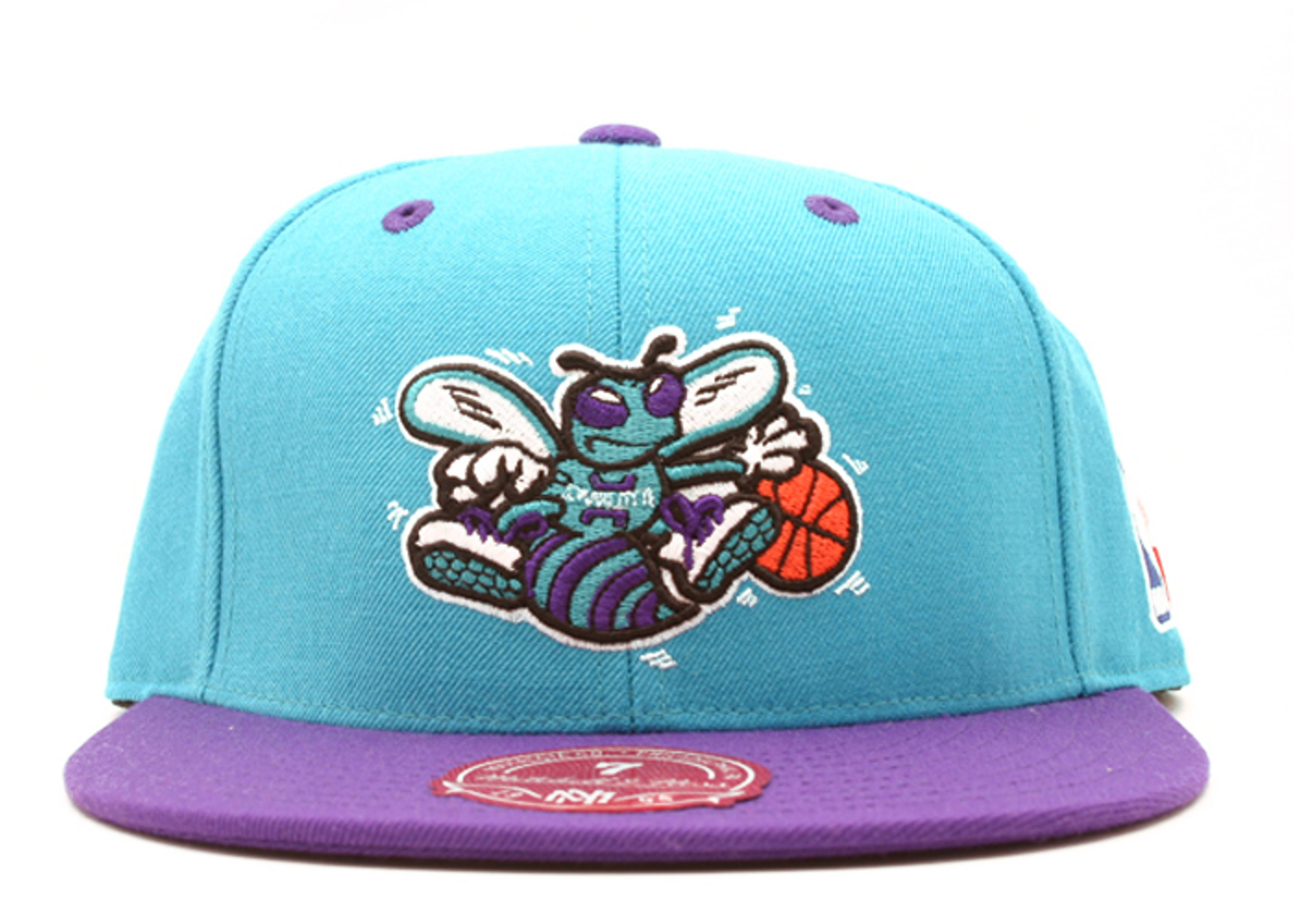 charlotte hornets 2tone fitted