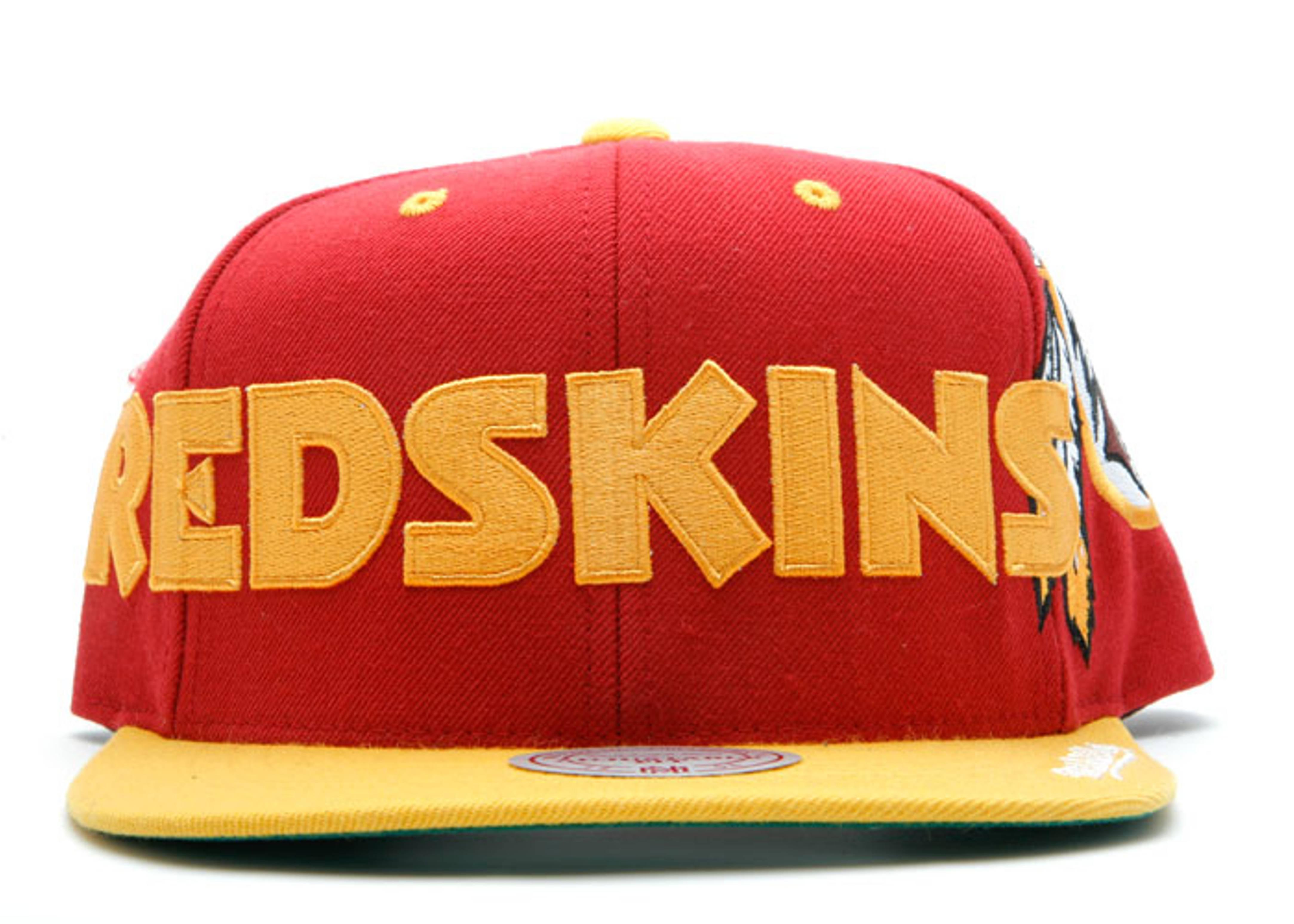 washington redskins 2tone snap-back