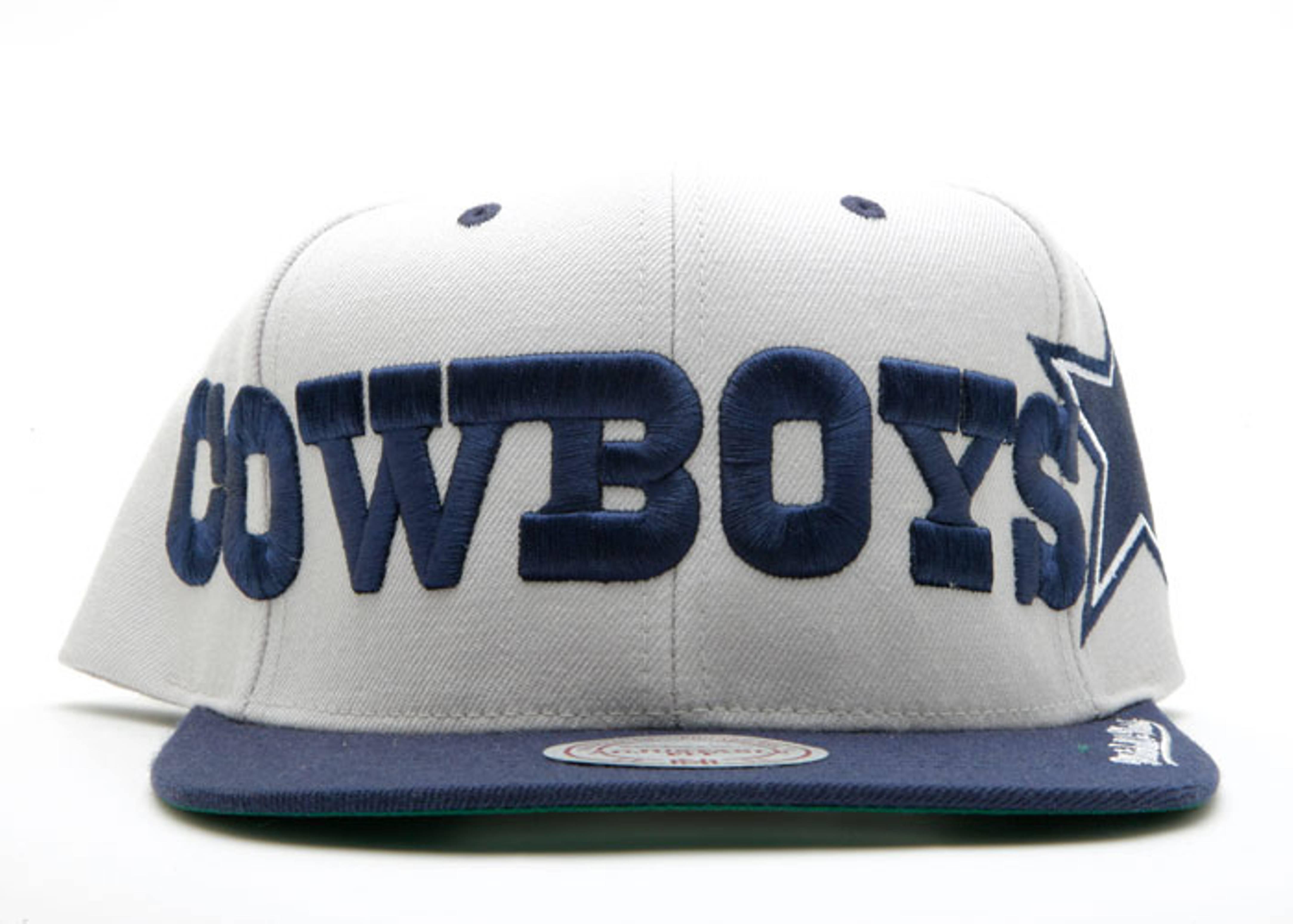 dallas cowboys 2tone snap-back