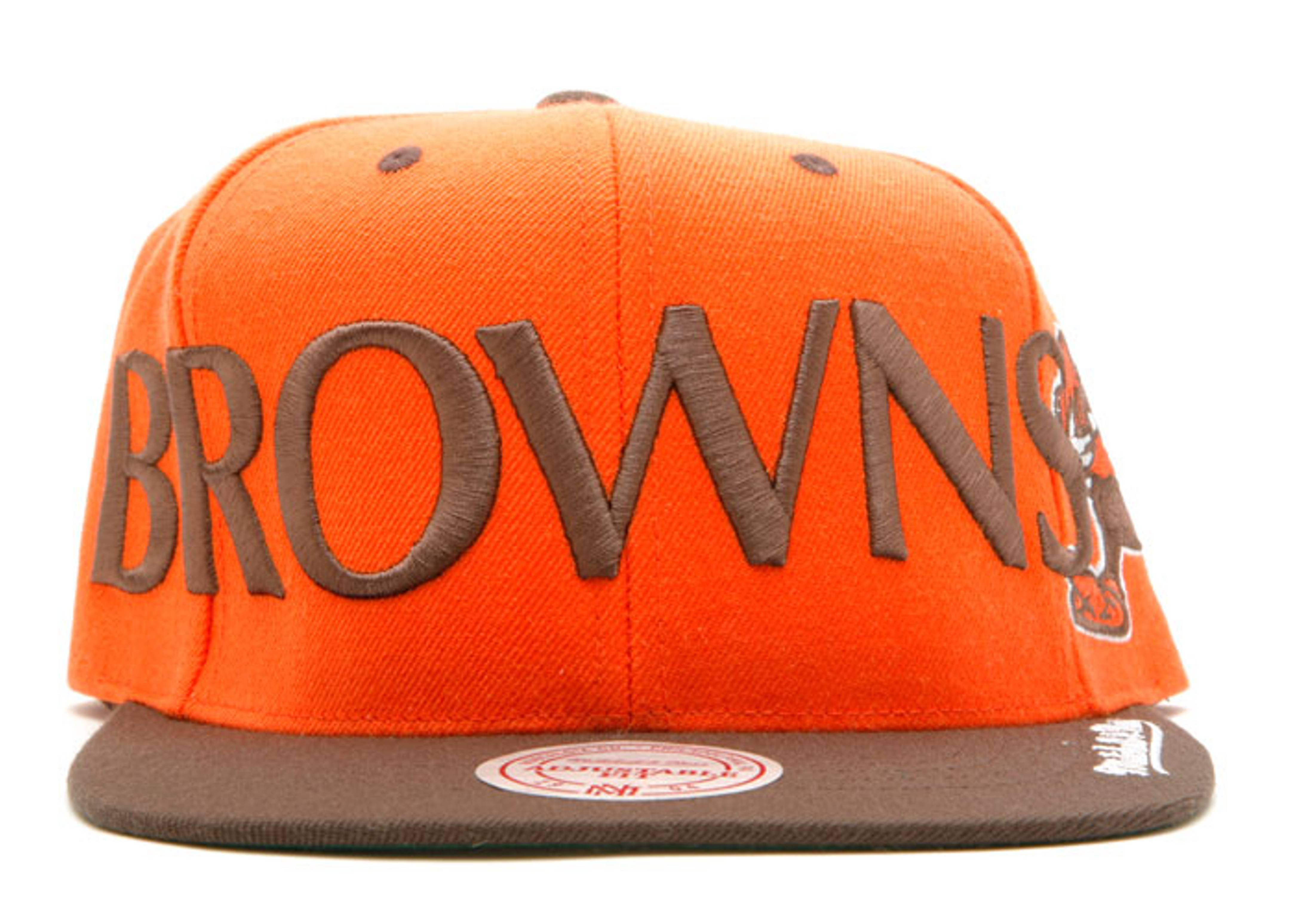 cleveland browns 2tone snap-back