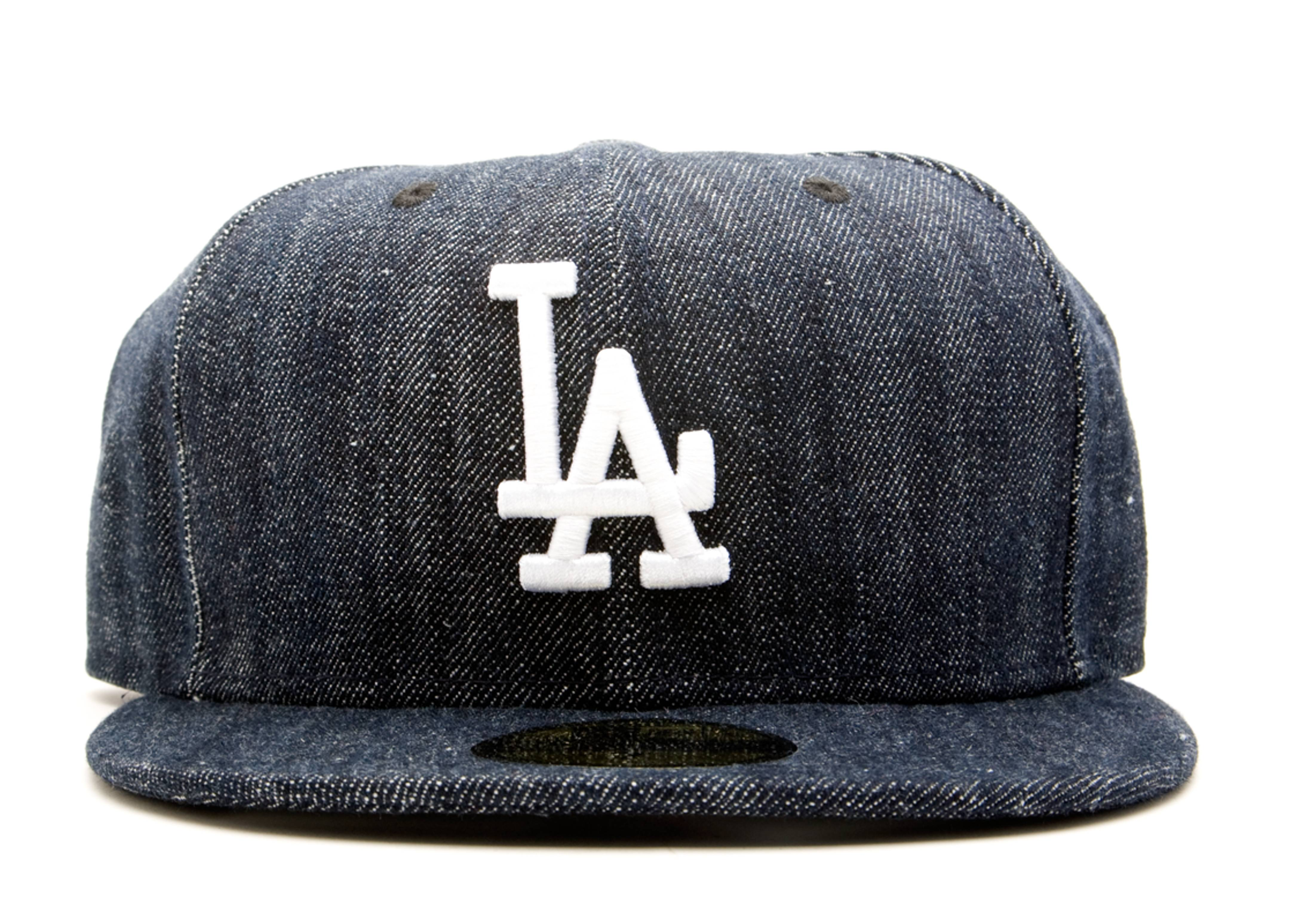 """los angeles dodgers fitted """"denim"""""""