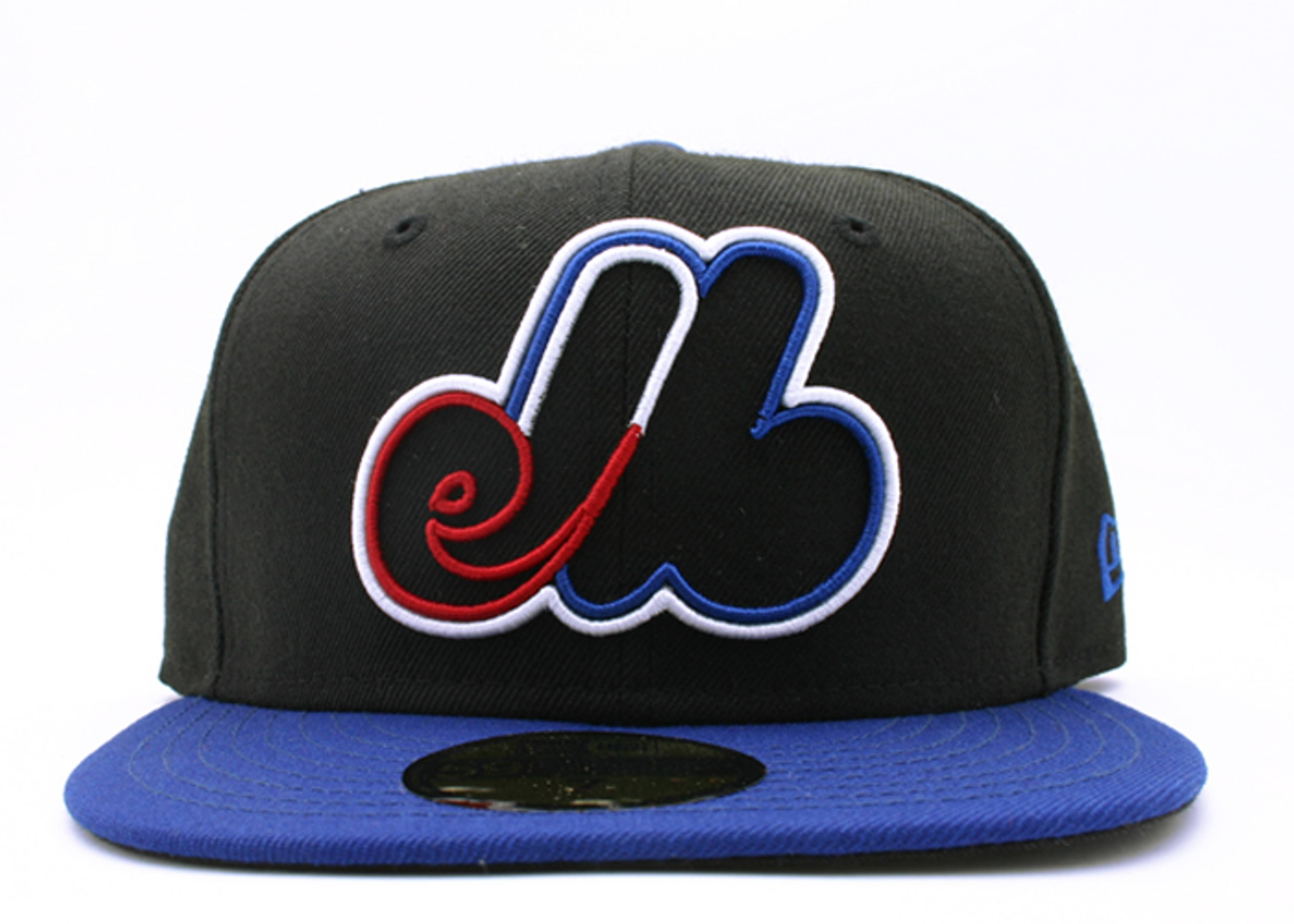 "montreal expos 2tone fitted ""neon sign"""